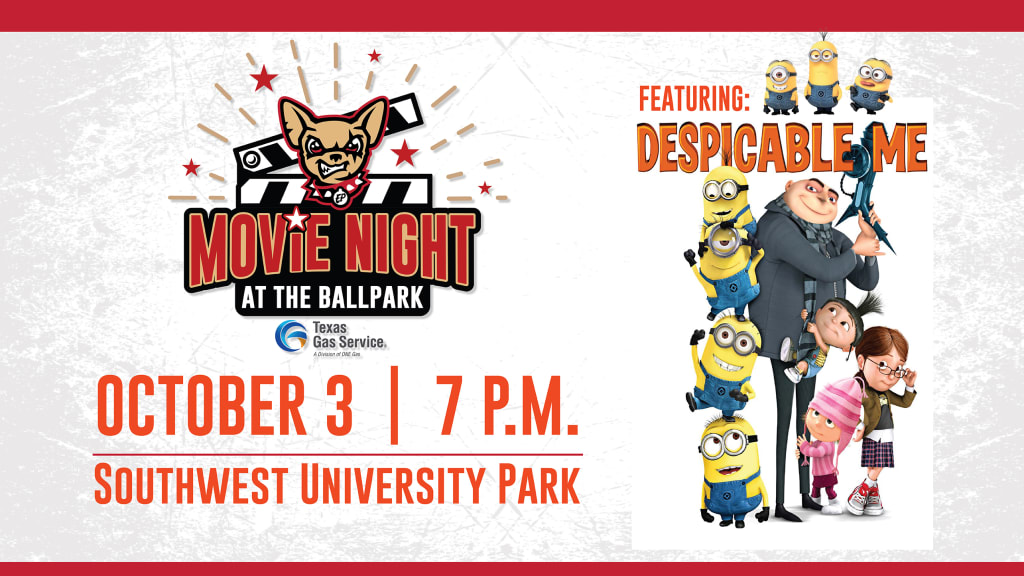 Movie Night at the Ballpark presented by Texas Gas Service