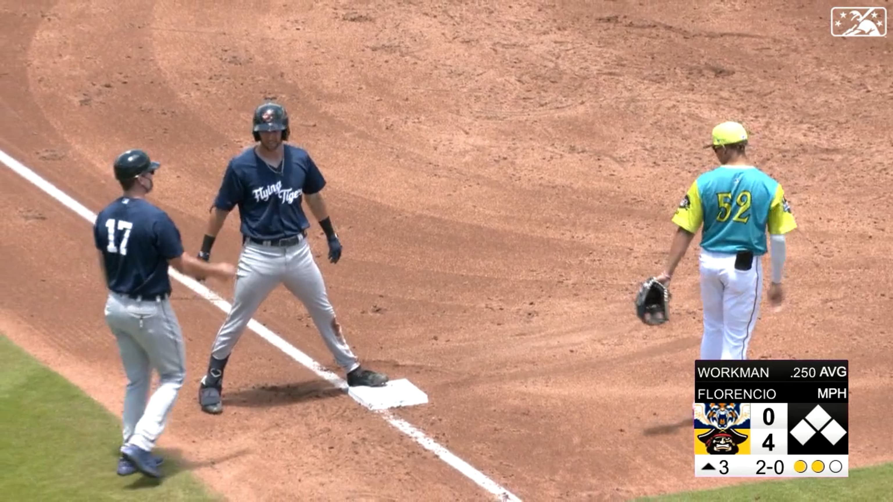 Gage Workman hits for the cycle