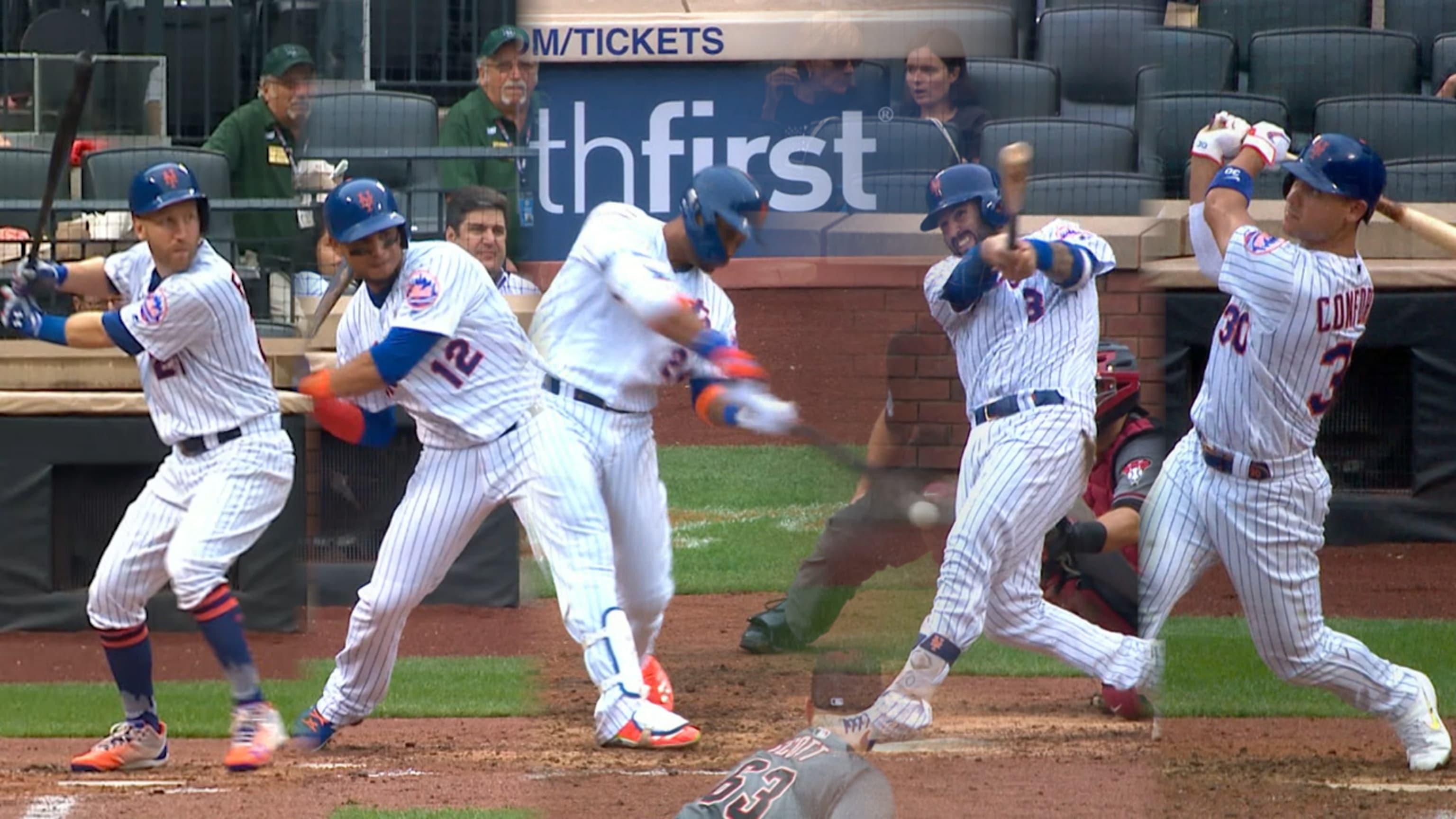 Mets dan 6 HR en el juego