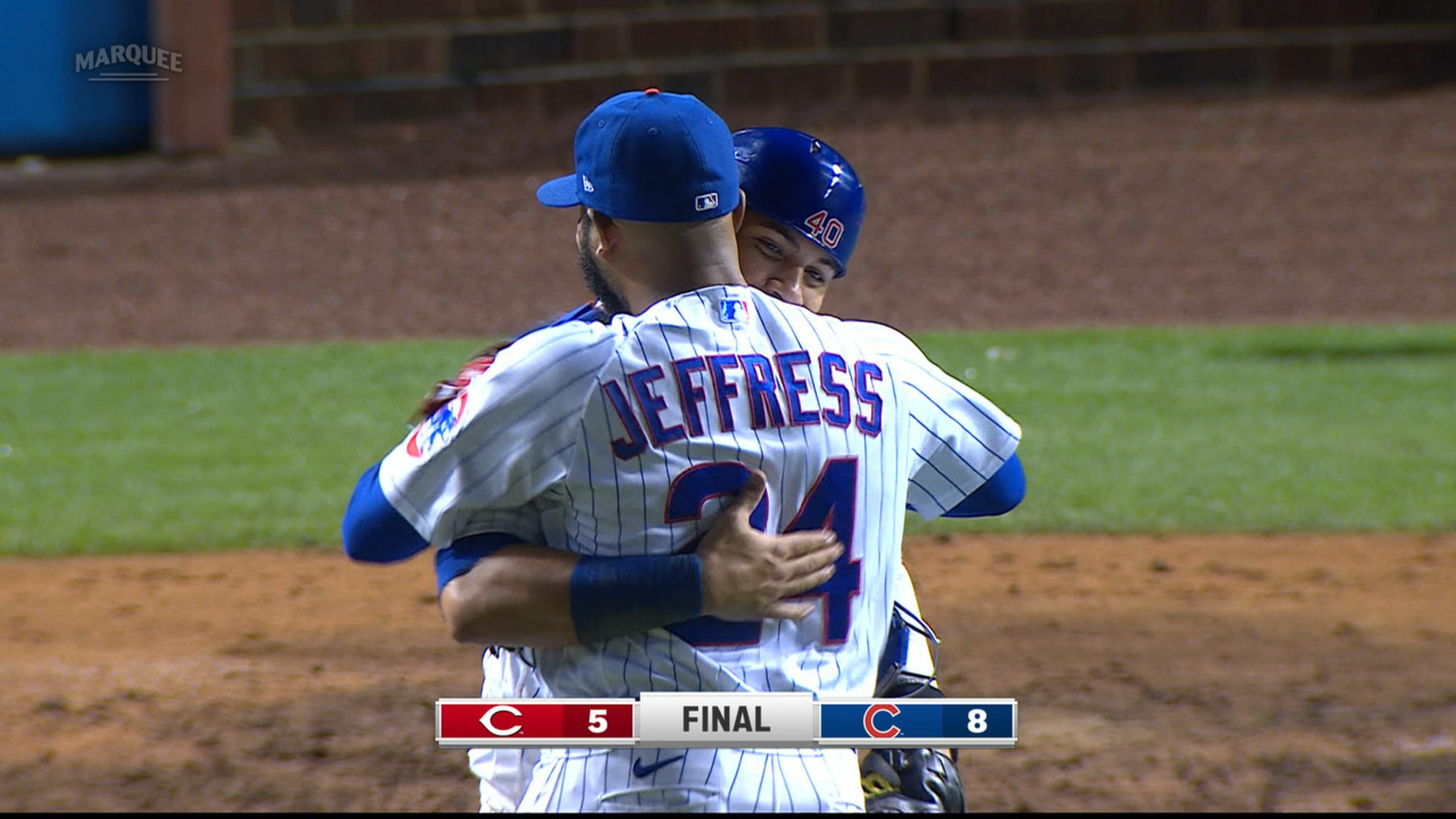 Jeremy Jeffress gana el salvamento