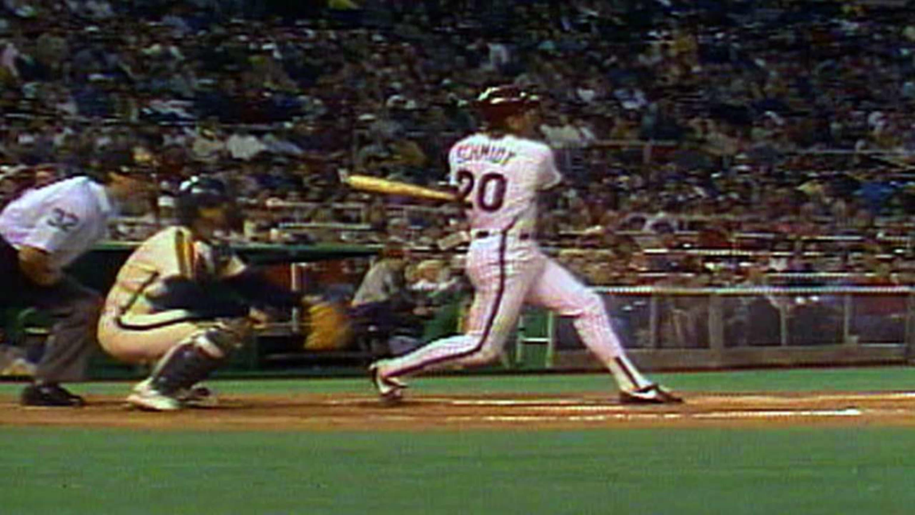 Schmidt's final home run