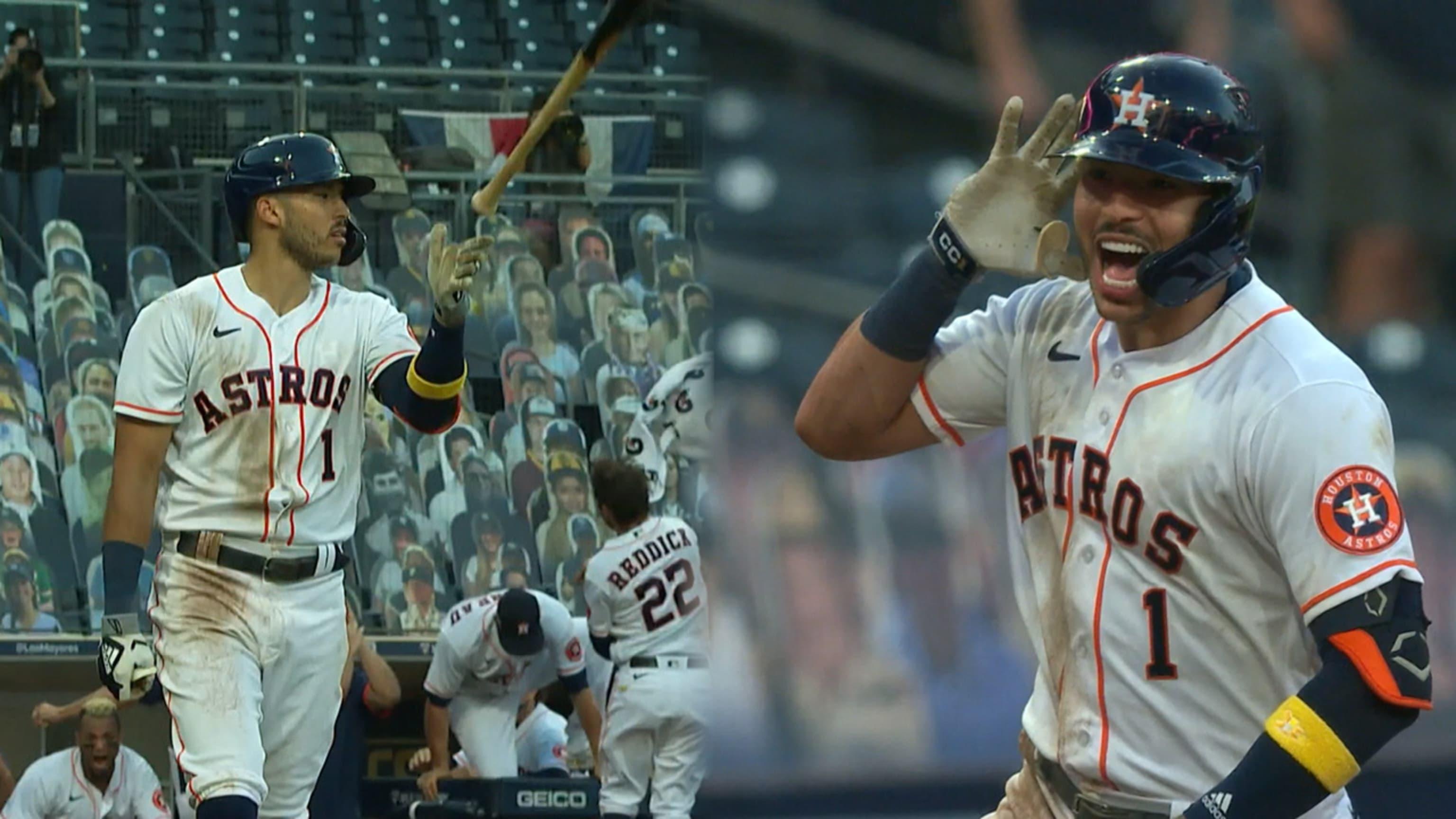 Correa da triunfo a Astros
