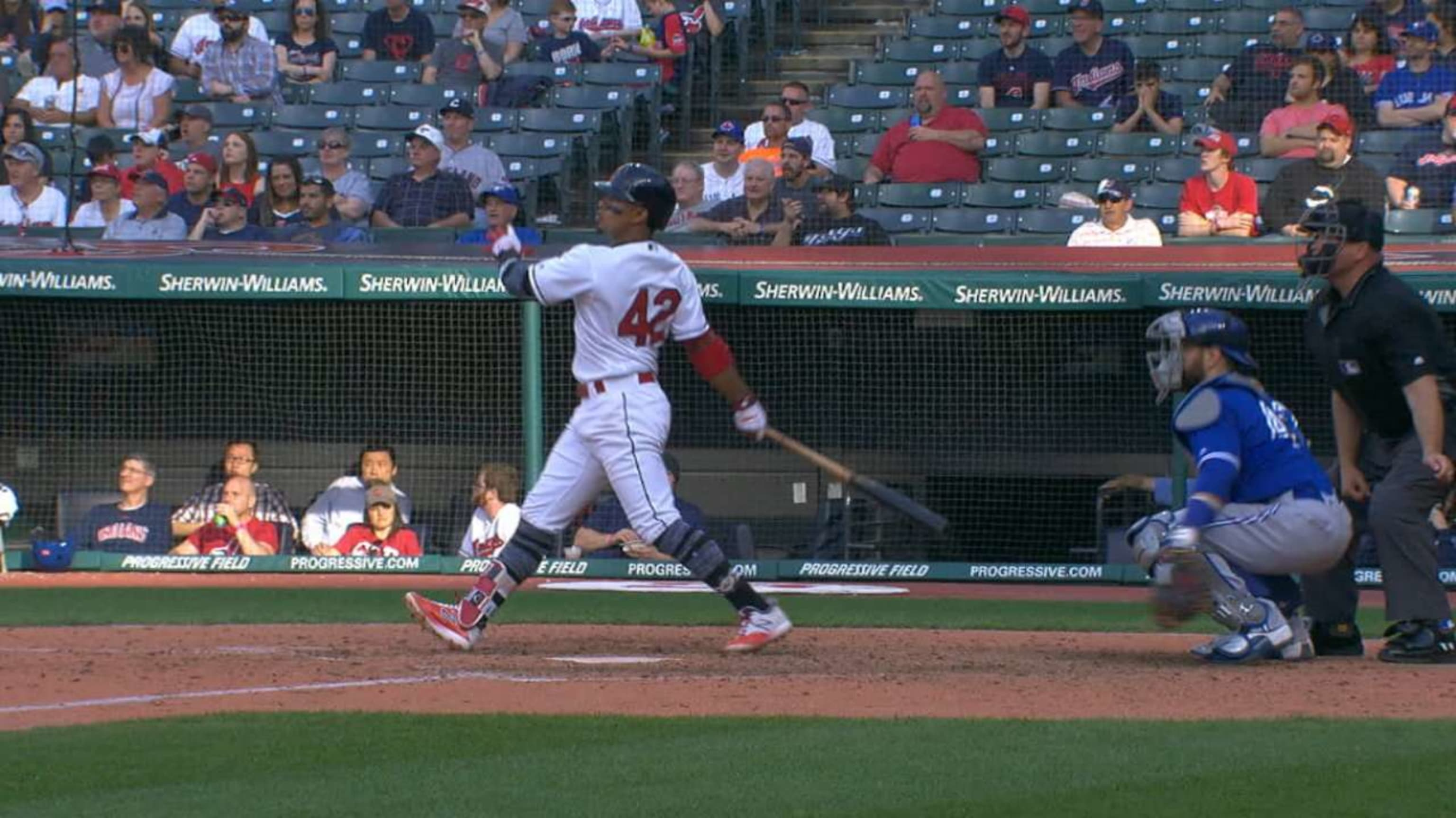 Lindor's two-homer day