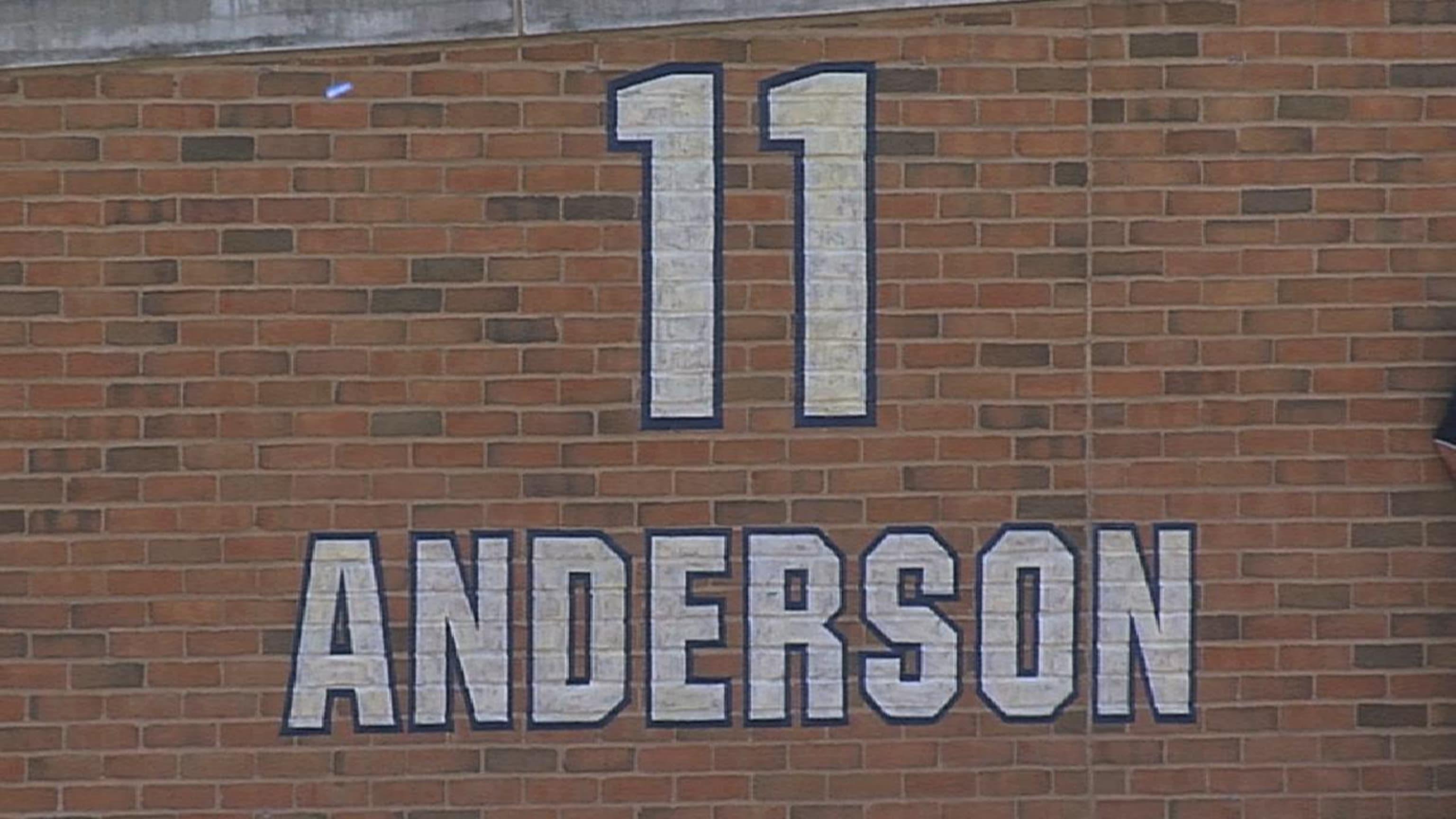 El número de Anderson se retiró