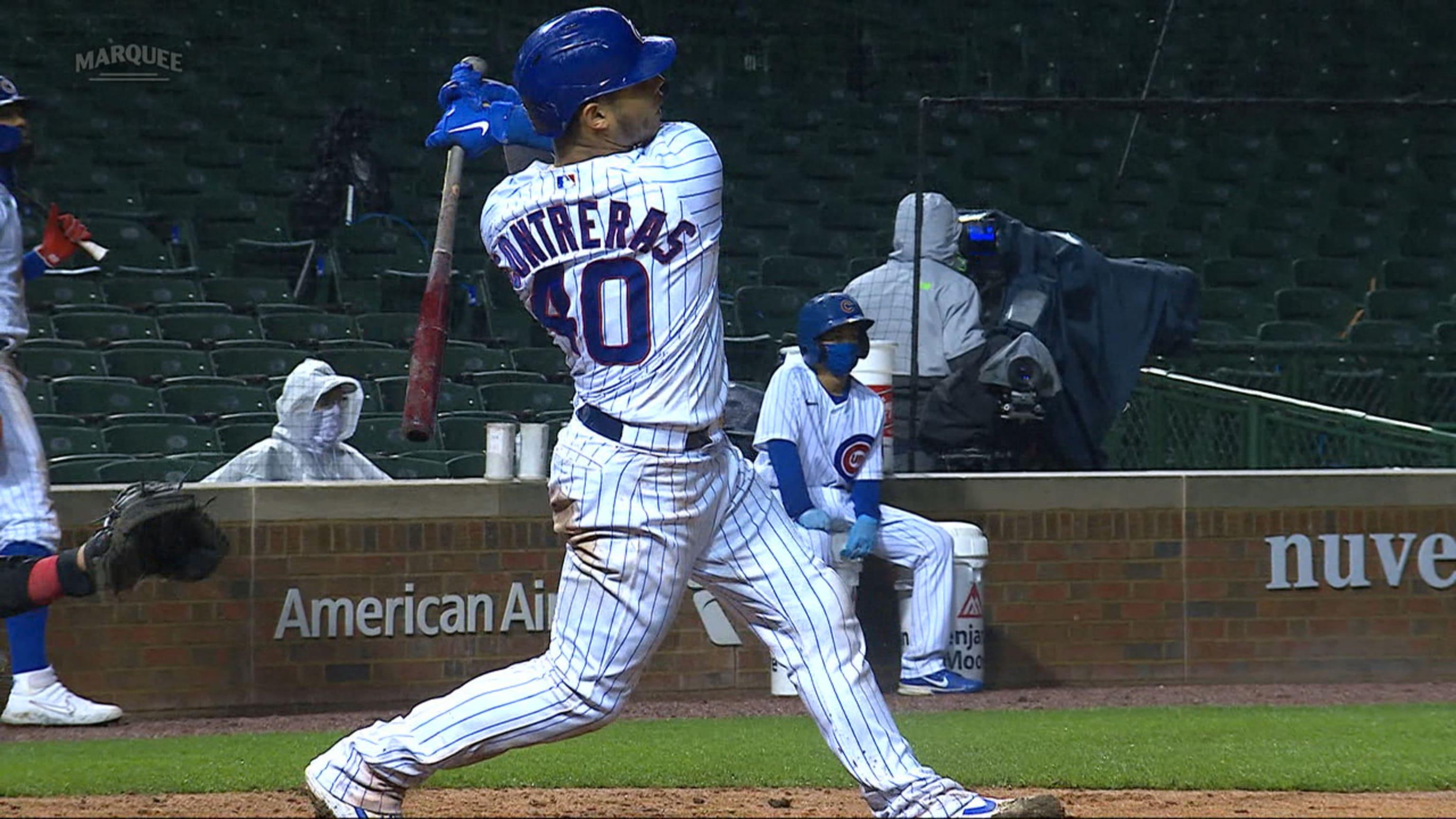 El juego de cuatro hits de Willson Contreras