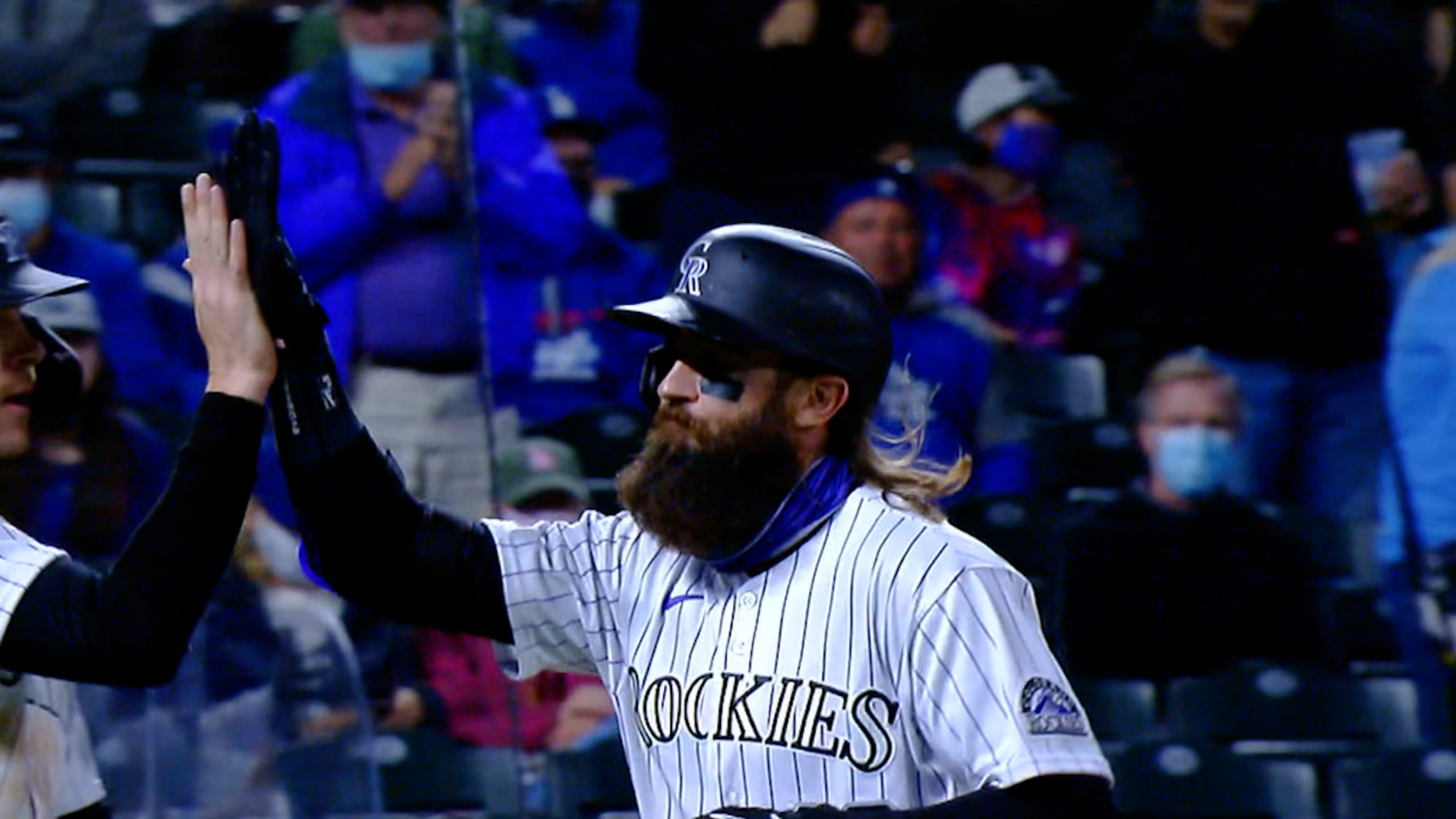 Charlie Blackmon adjusts as game changes