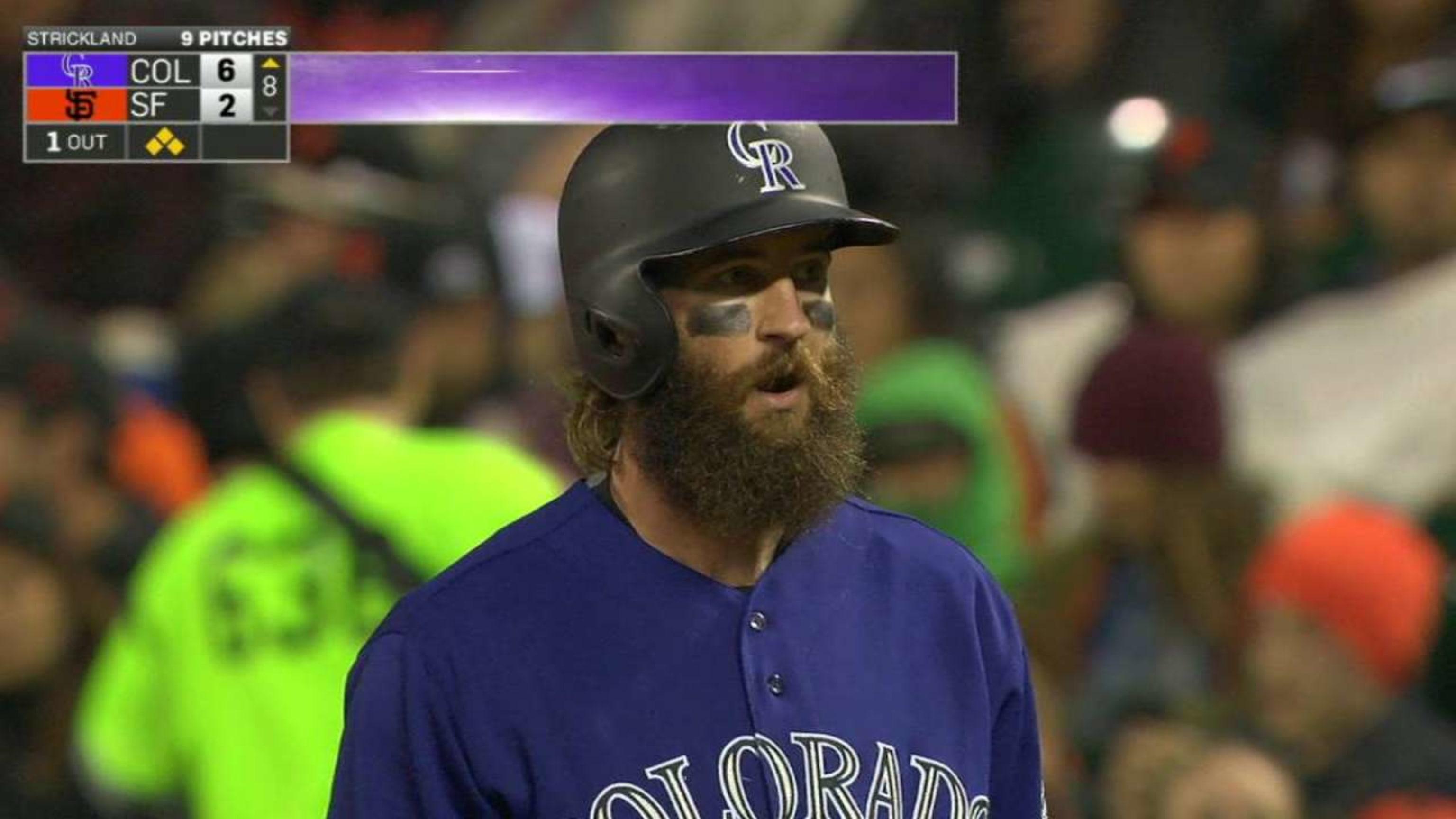 Charlie Blackmon Colorado Rockies Spring Training Baseball Player Jersey