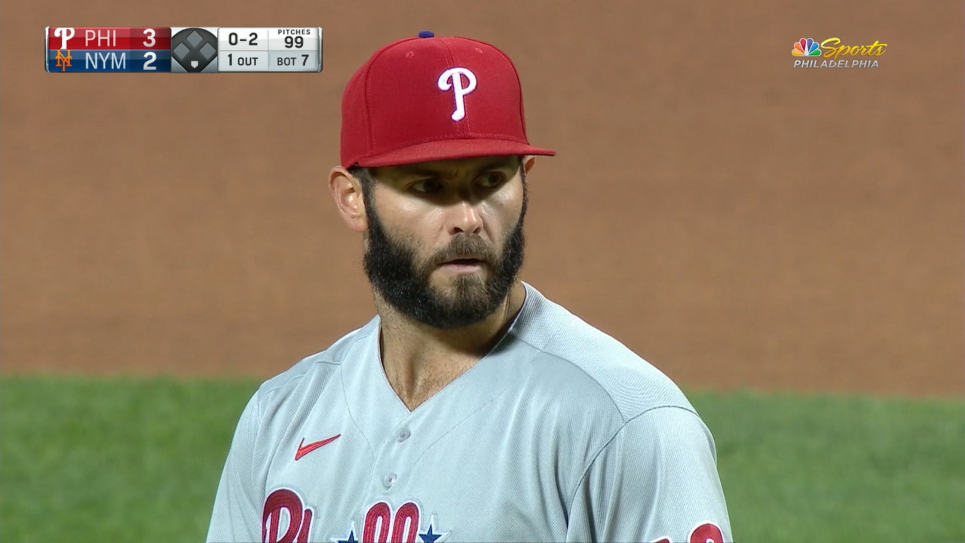 Jake Arrieta strikes out seven in Phillies fifth straight win