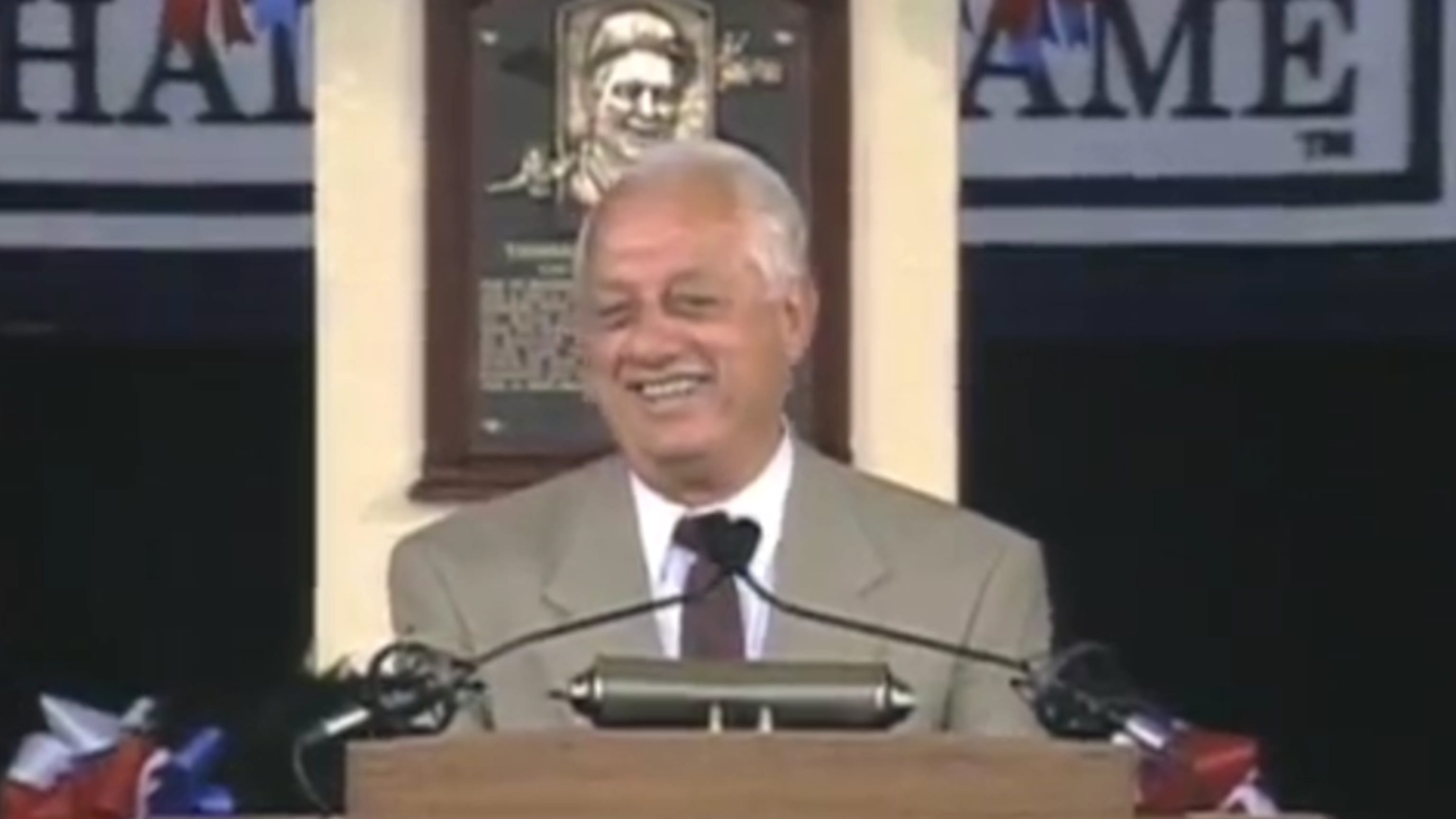 Tommy Lasorda Hall of Fame Speech