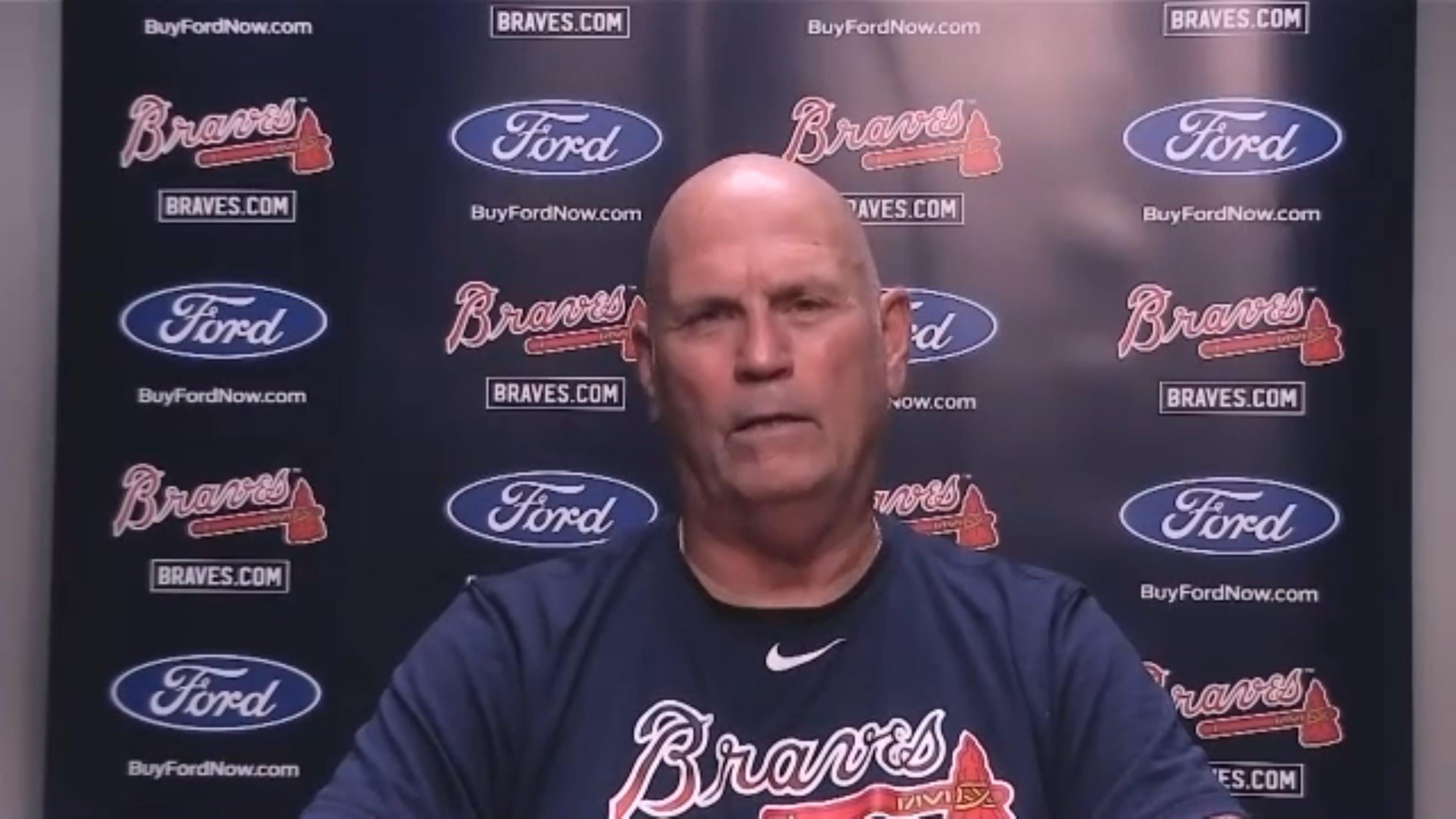 Brian Snitker sobre la lesión de Acuña Jr.