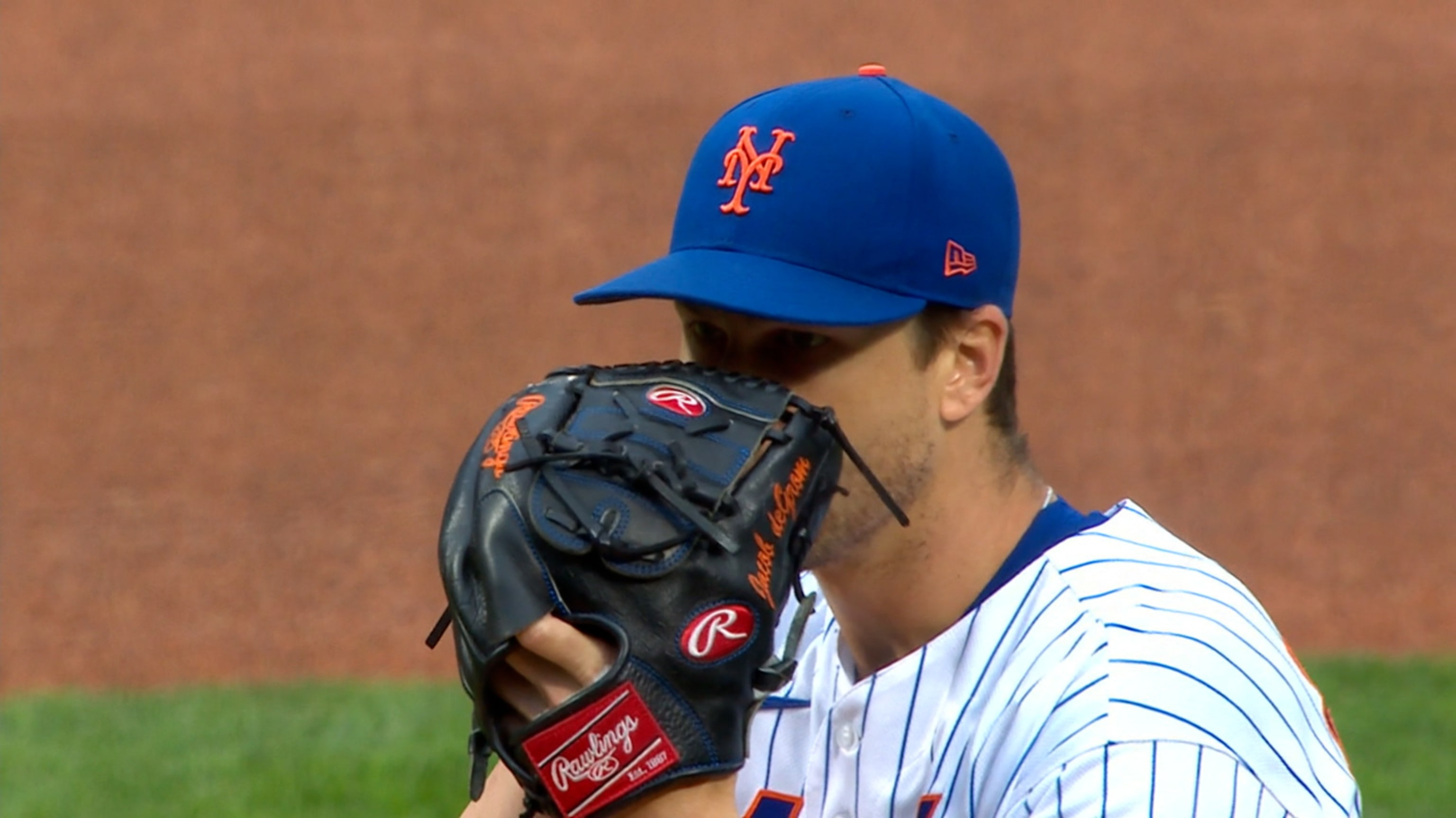 deGrom leads Mets in 1st half