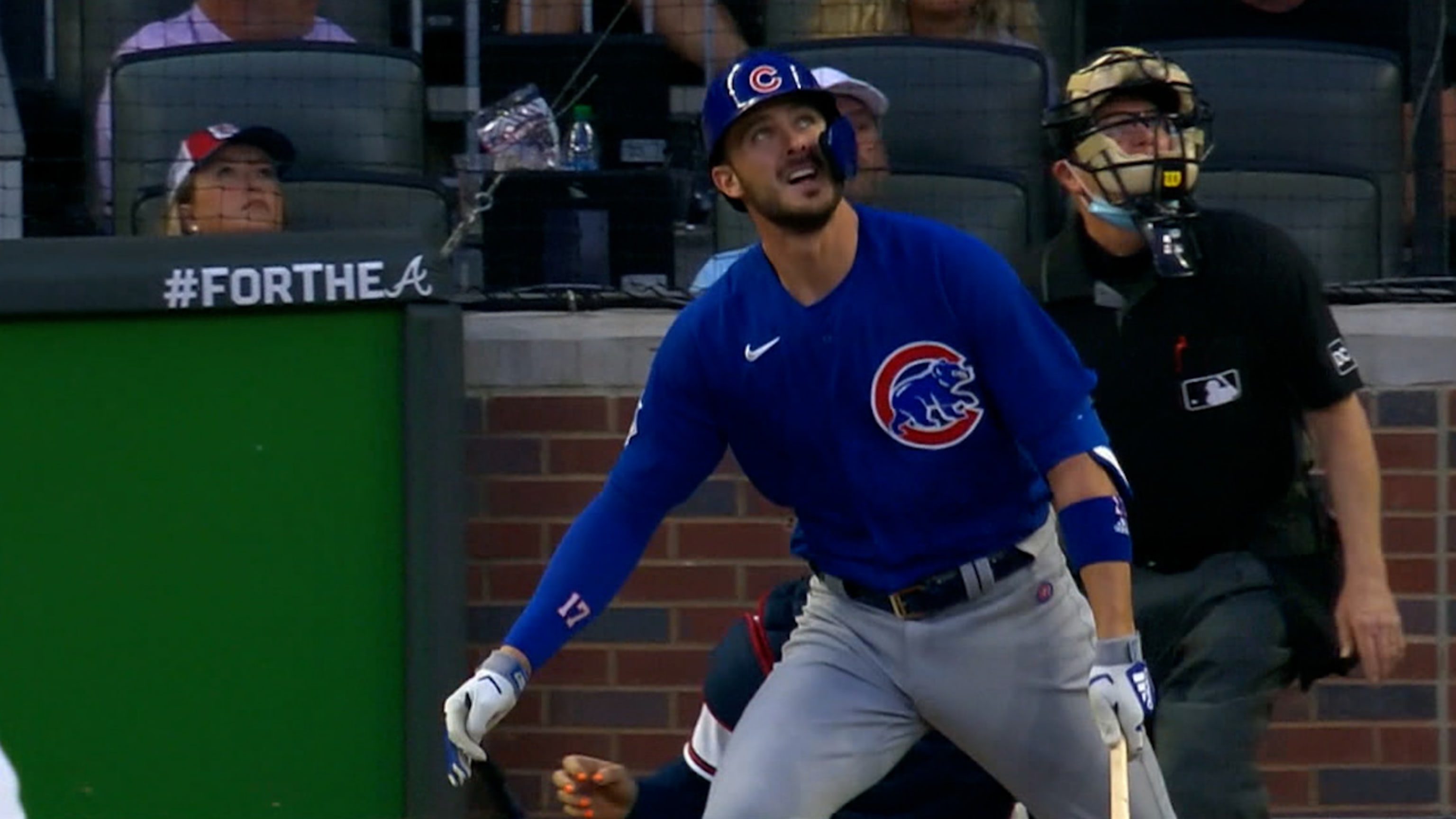 Bryant leads Cubs in 1st half