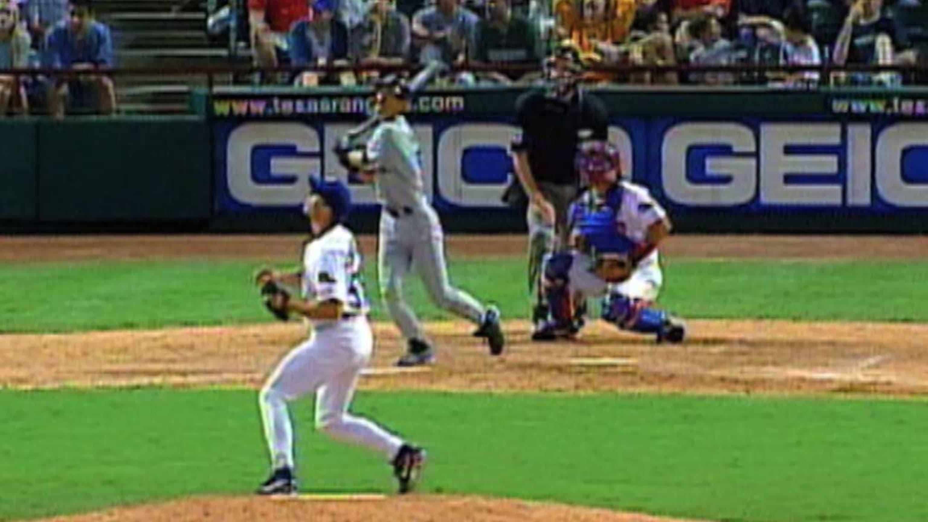 Primer HR de Ichiro en G.L.