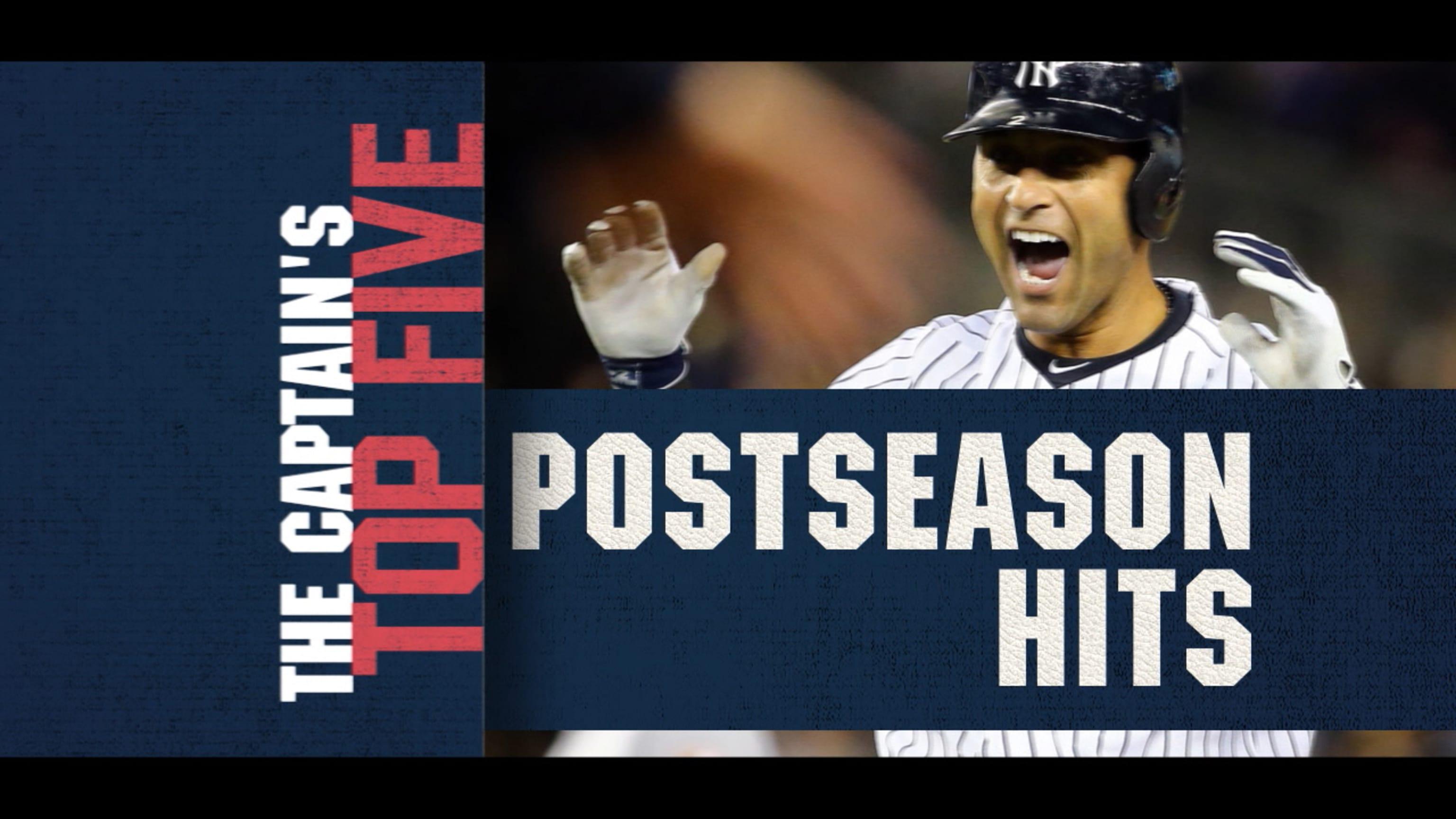 Cinco mejores hits de Jeter en playoffs