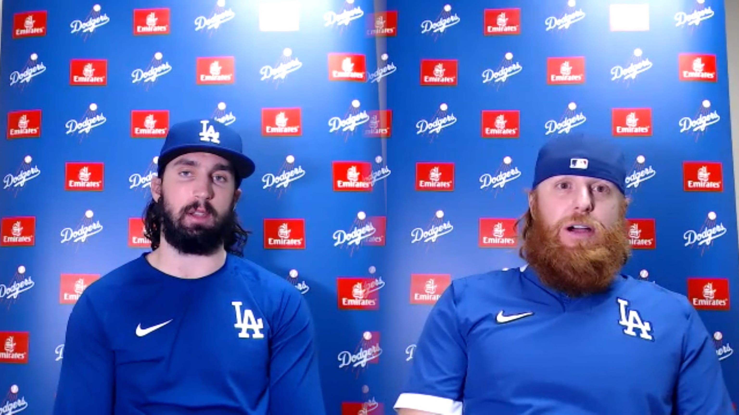 Gonsolin y Turner sobre la victoria de los Dodgers