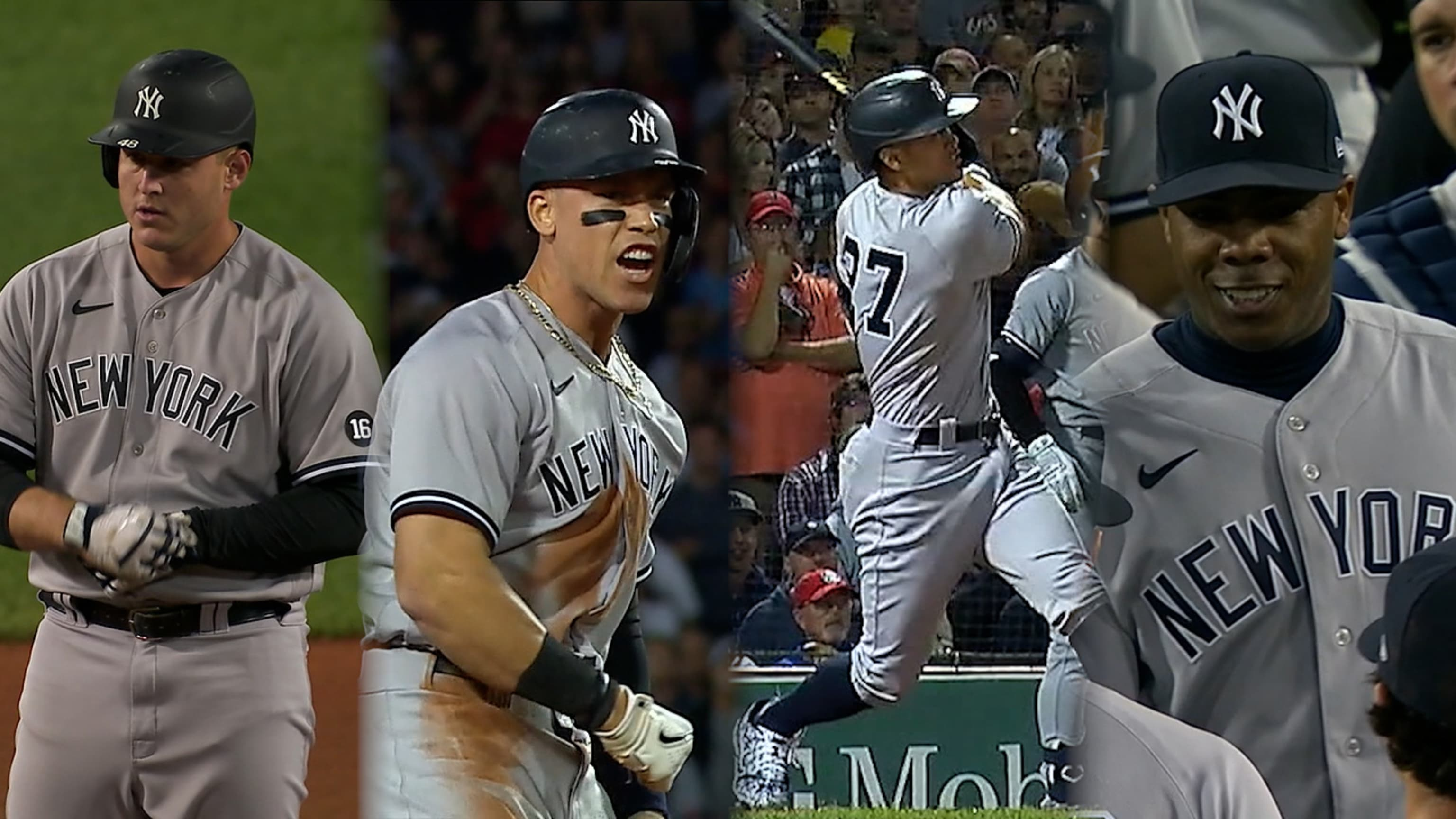 Yankees fabrican 4 en la 8va