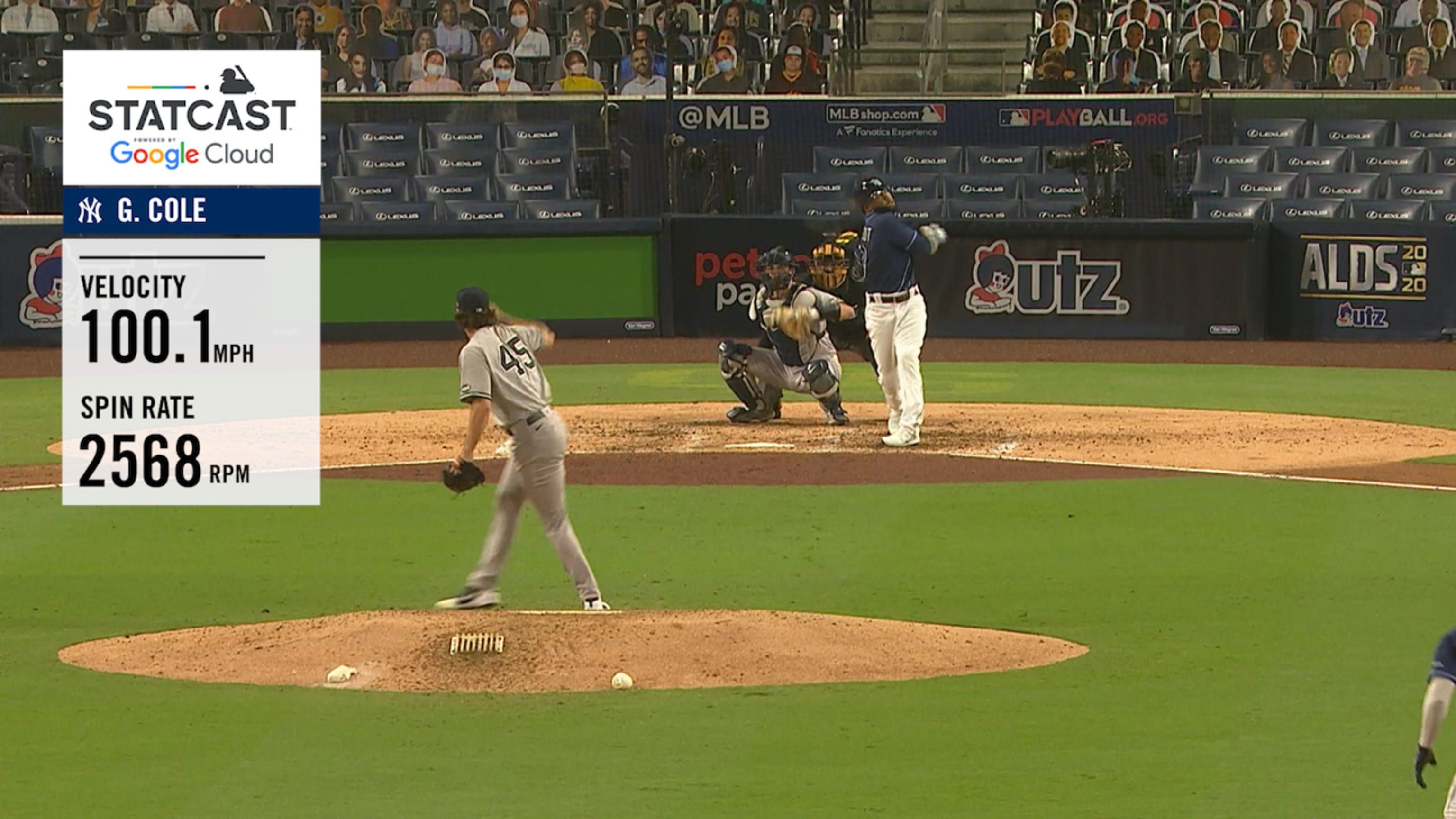 Gerrit Cole's 100.1-mph strikeout