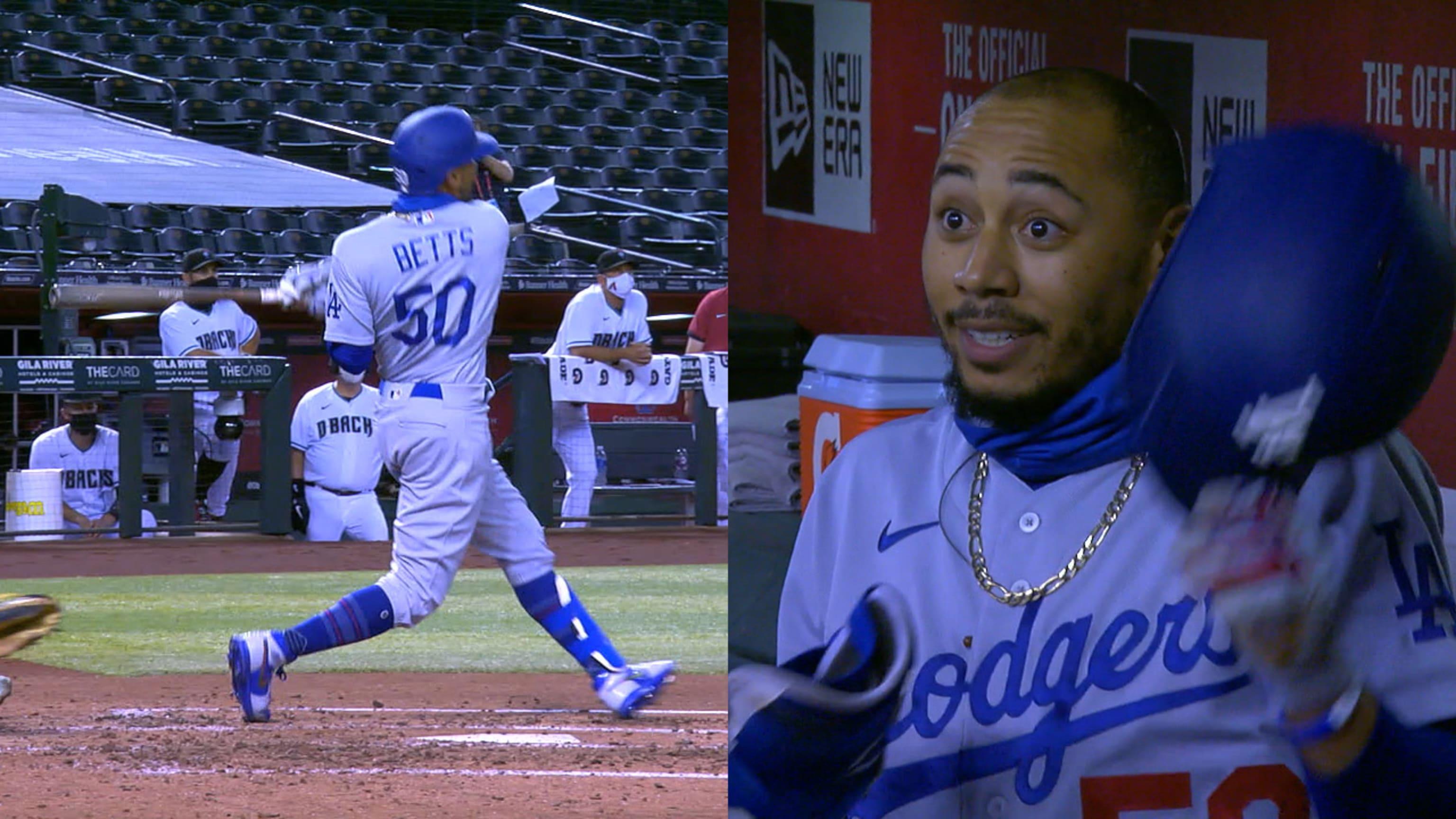 Los primeros Dodgers HR de Mookie Betts