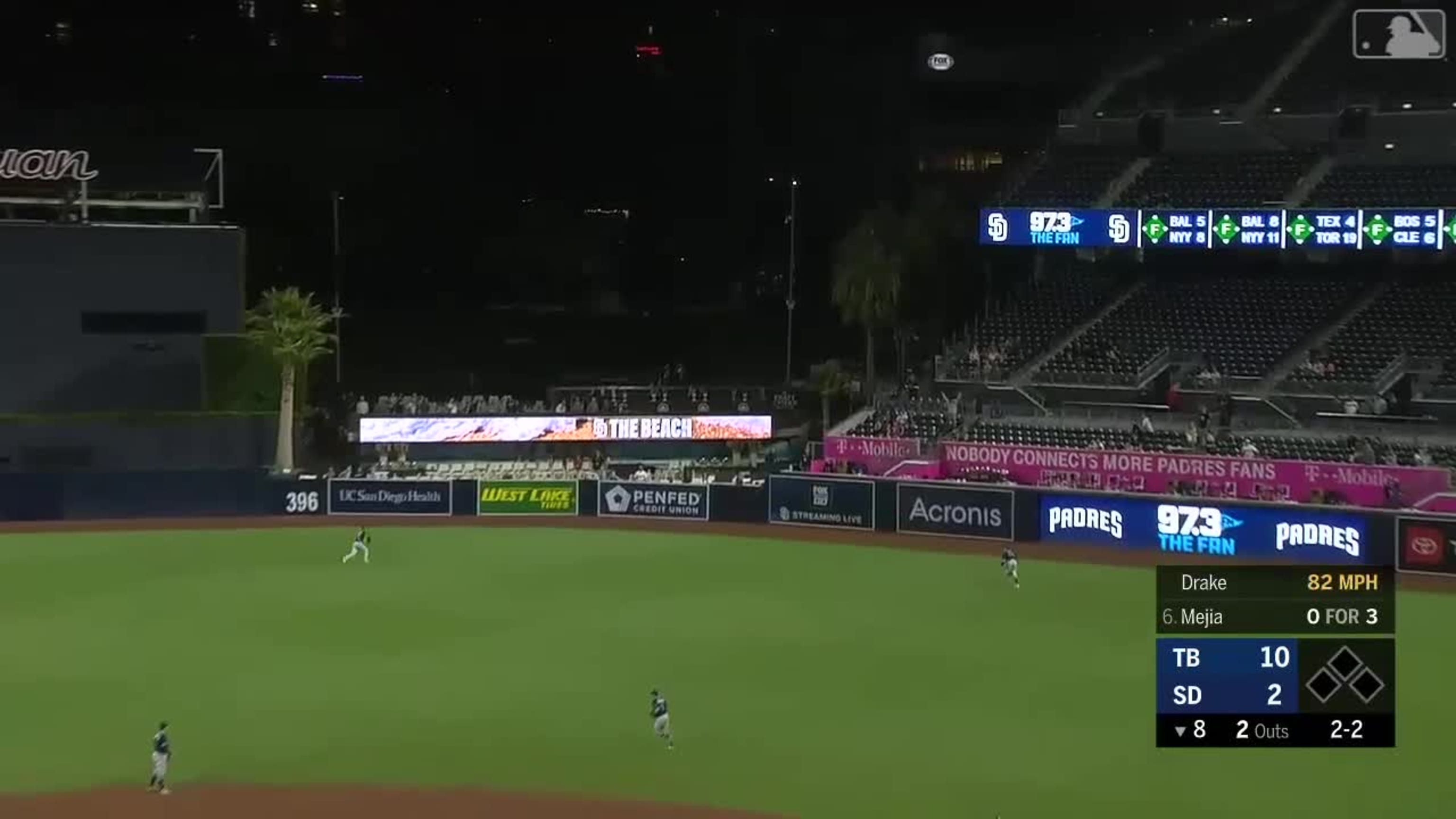 La excelente defensa de Kiermaier