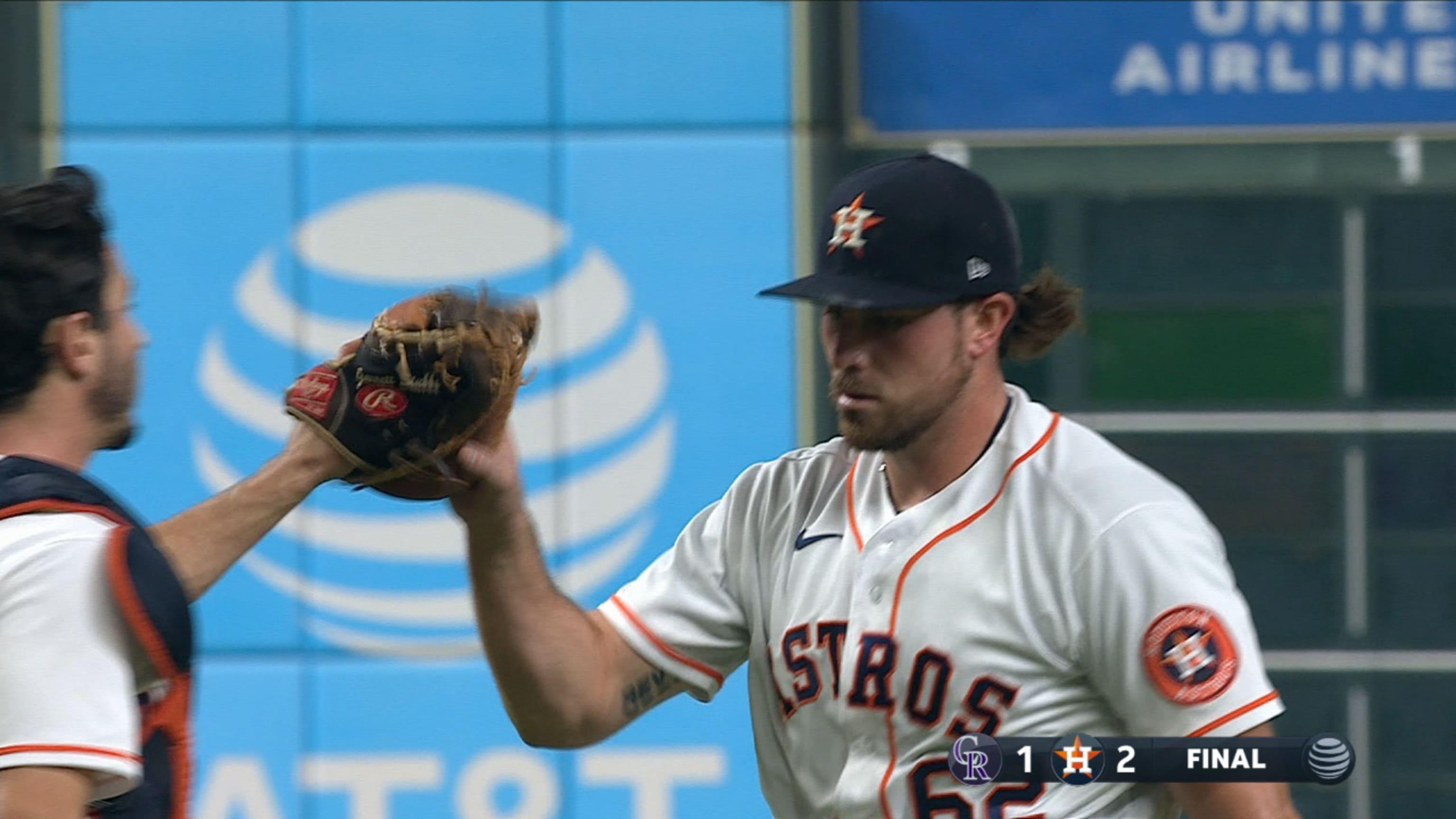Brad Peacock Houston Astros Spring Training Baseball Player Jersey