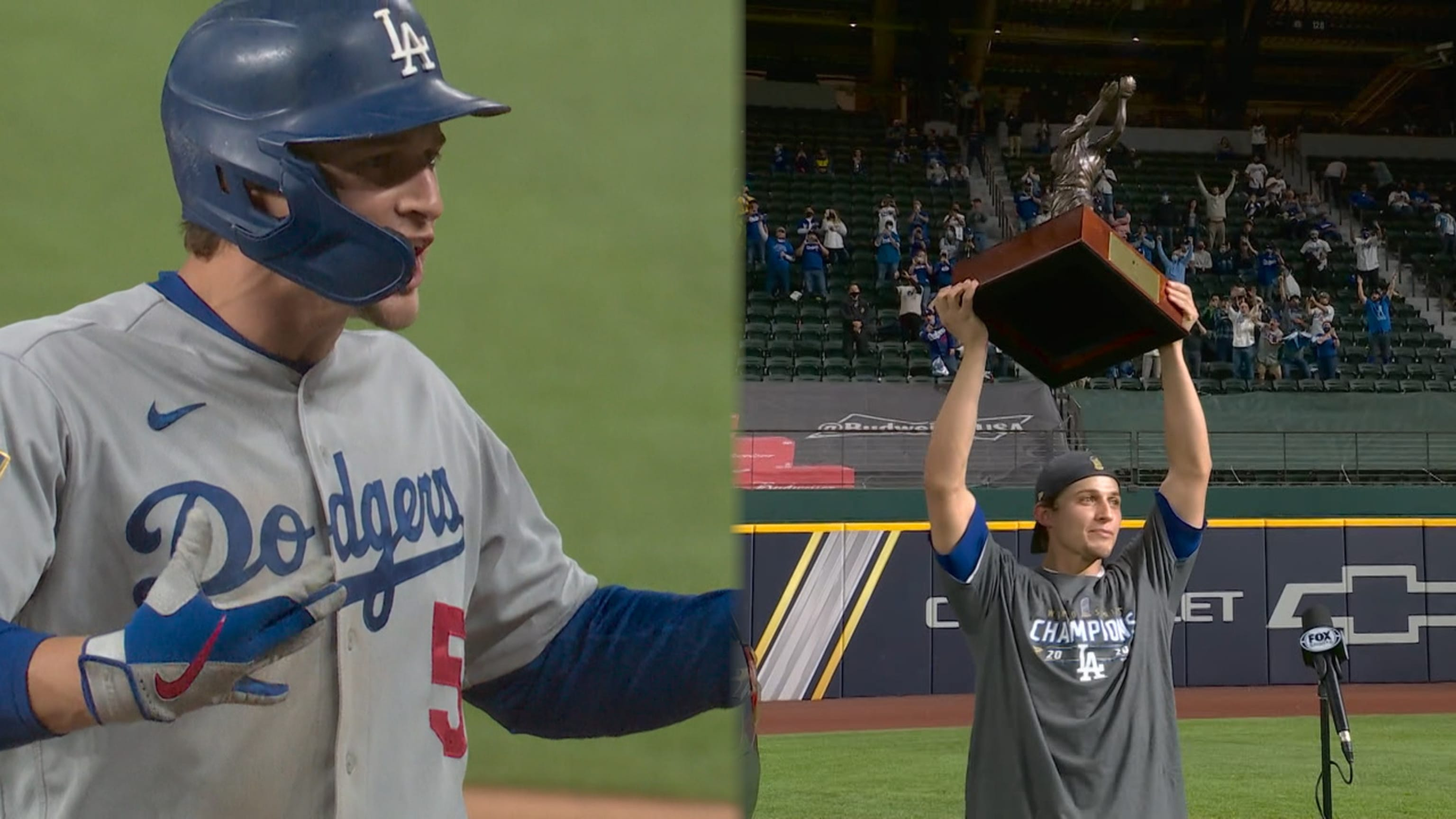Corey Seager's MVP performance