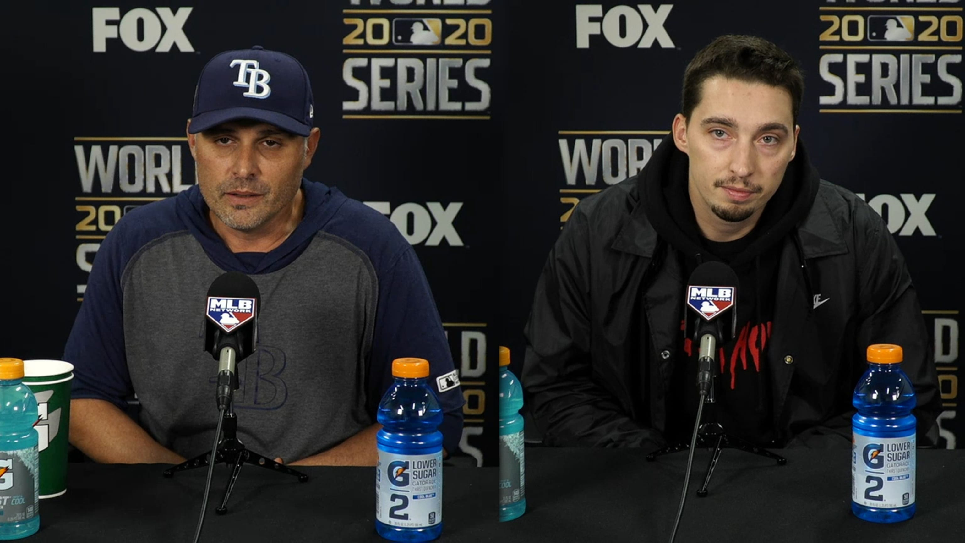 Cash, Snell on pitching change