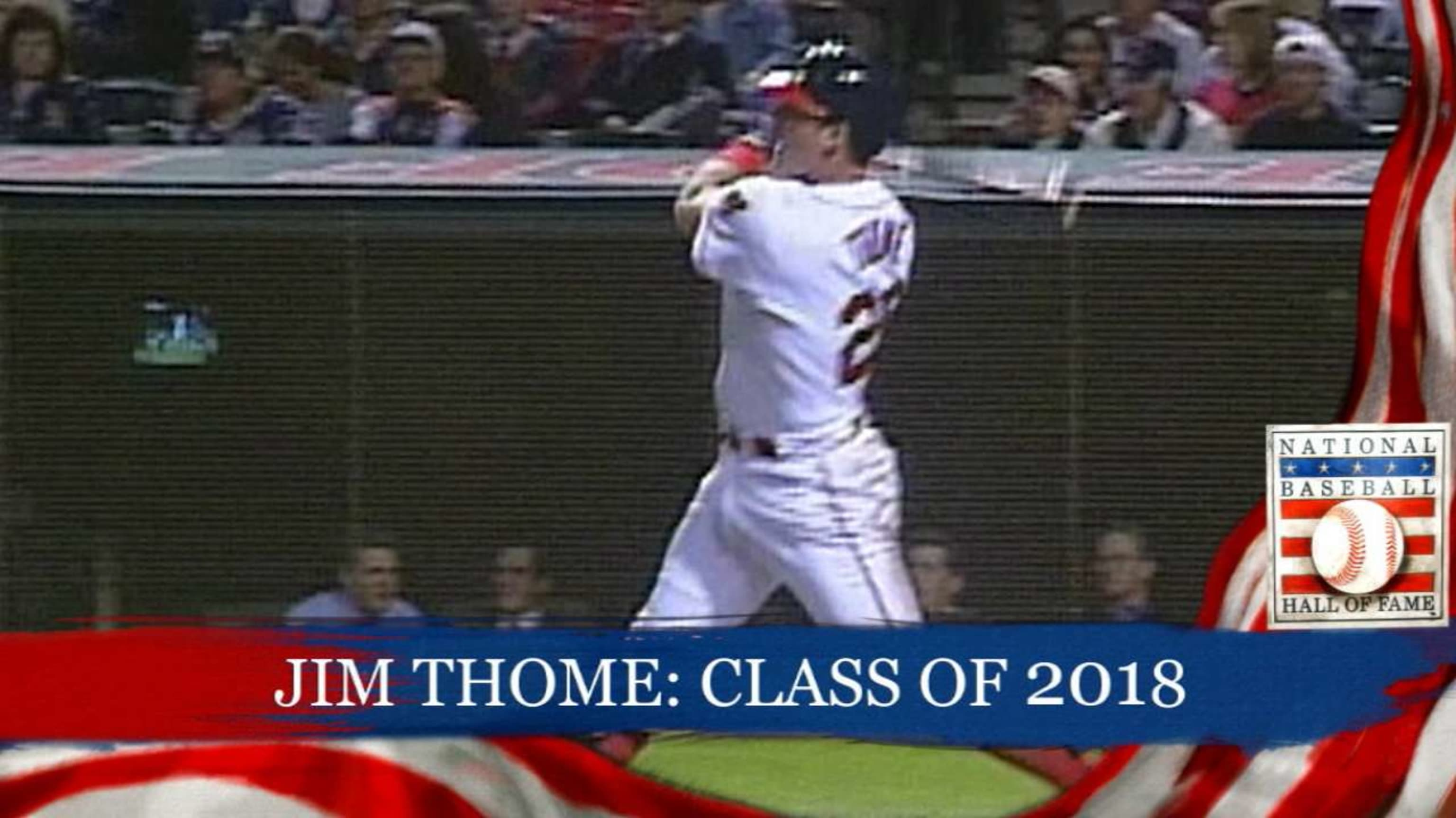 Thome elected to Hall of Fame