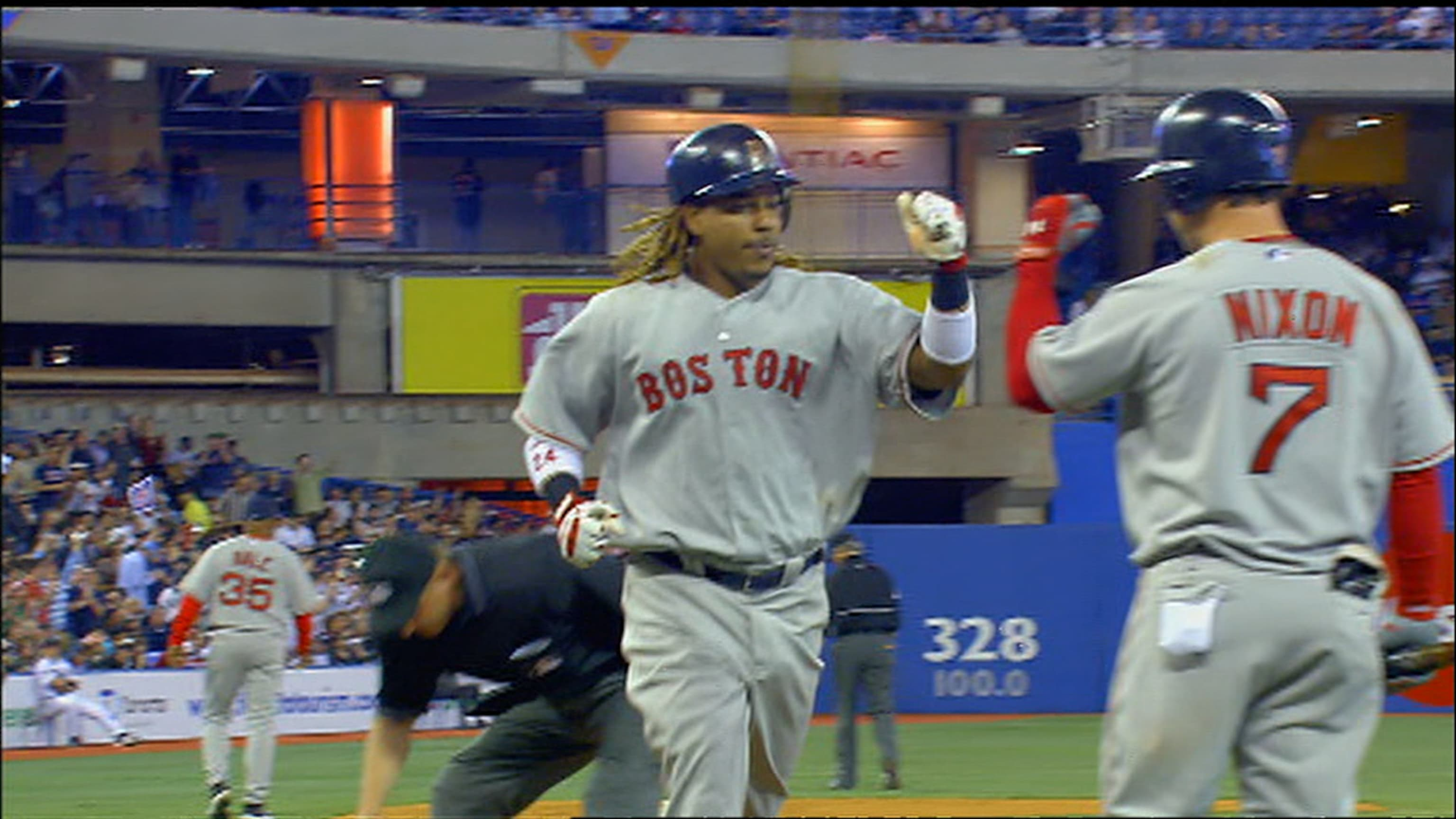 Manny Ramirez's 200th HR with Sox