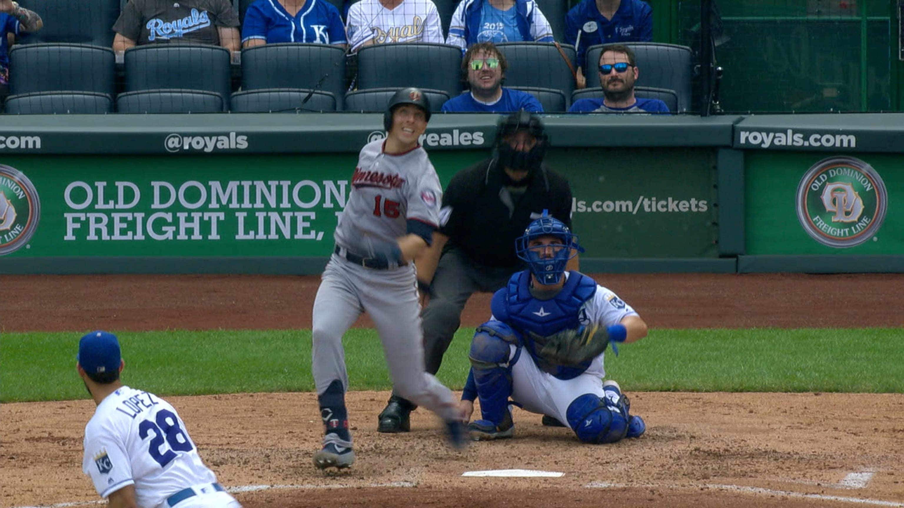 Castro hits Twins' 307th HR