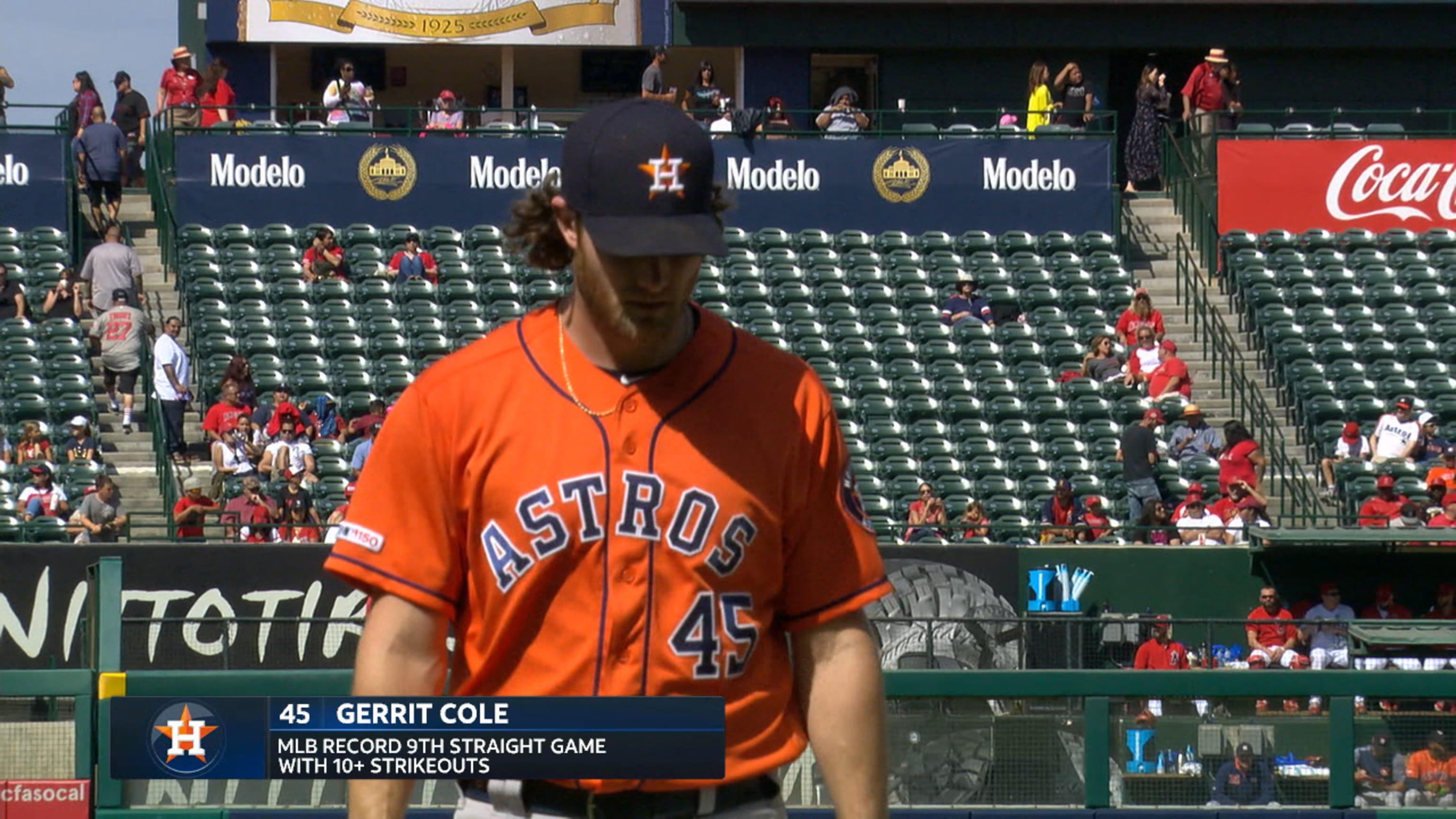 Cole's record-setting K