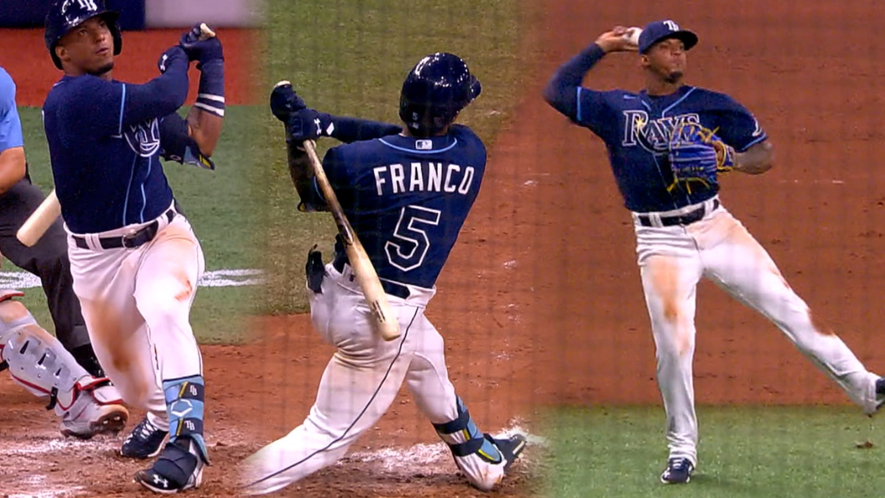 Debut estelar de Wander Franco en MLB