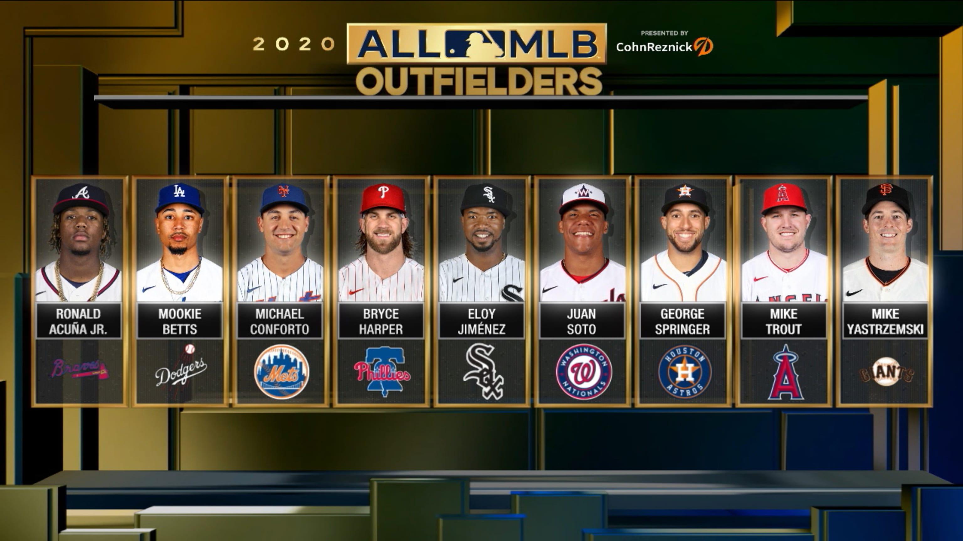 2020 All-MLB Team OF finalists