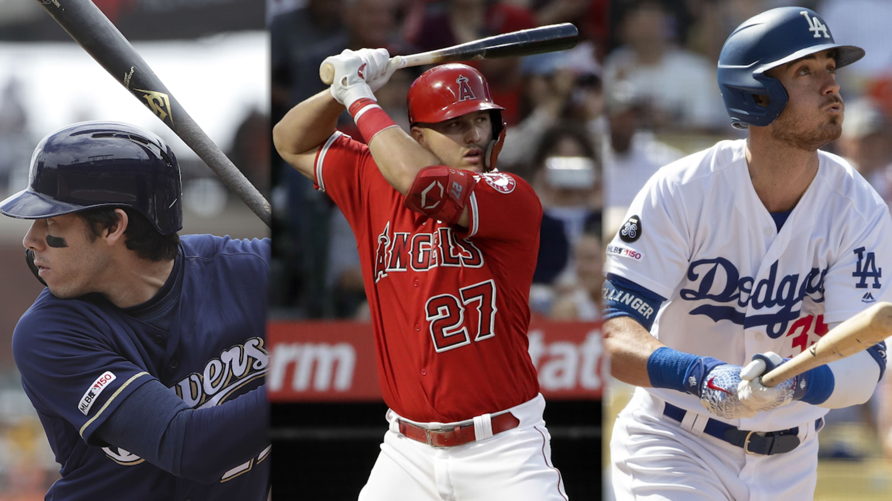 Top 100 MLB players for 2020