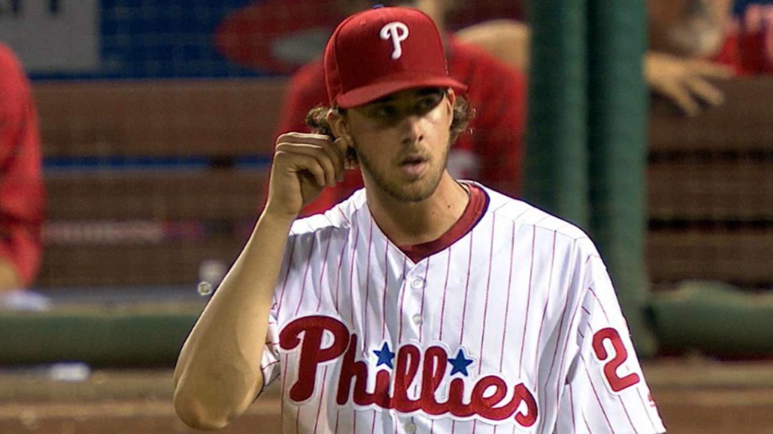 Aaron Nola racks up strikeouts against Brewers