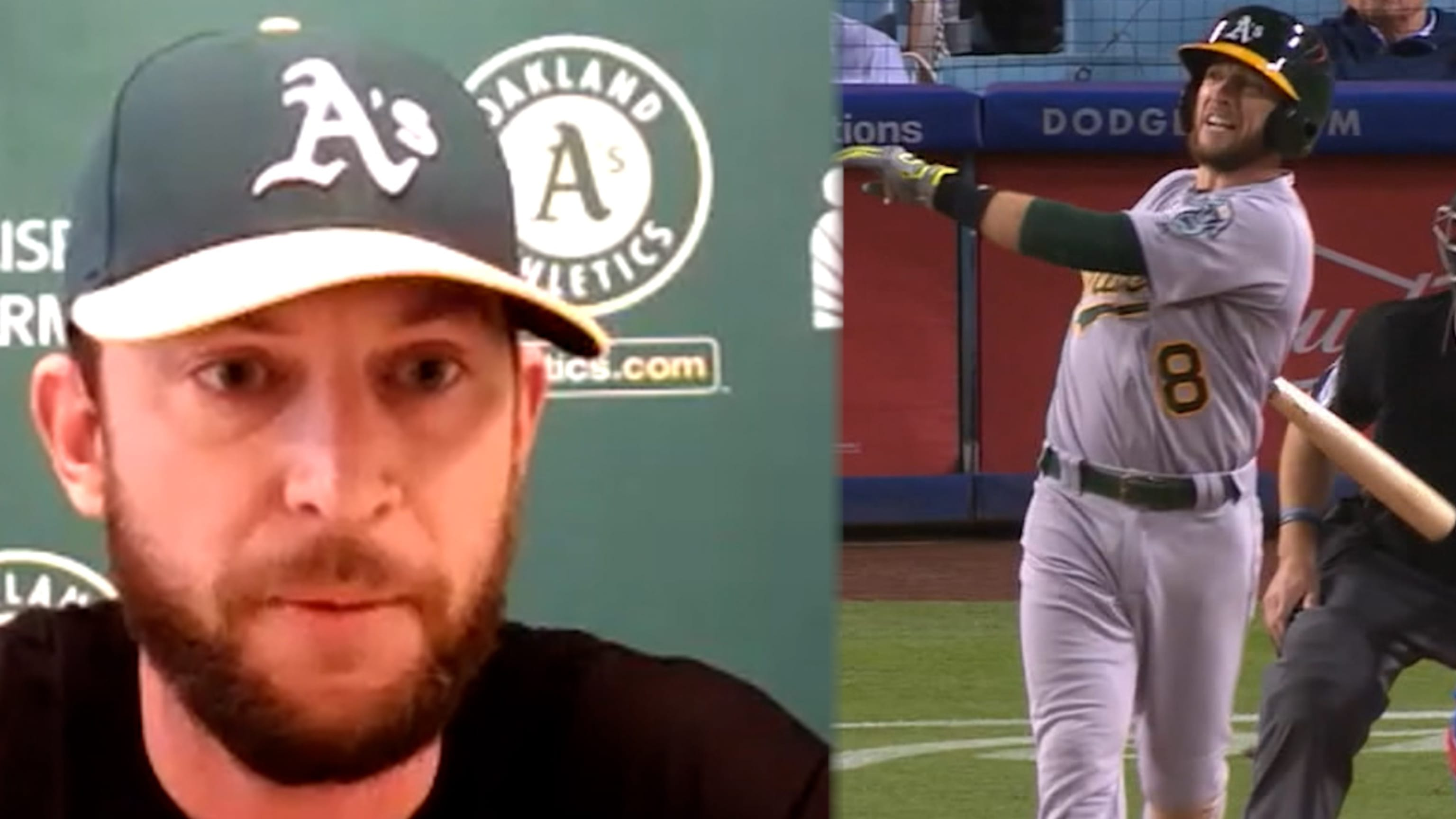 Jed Lowrie gets first start in return to A's