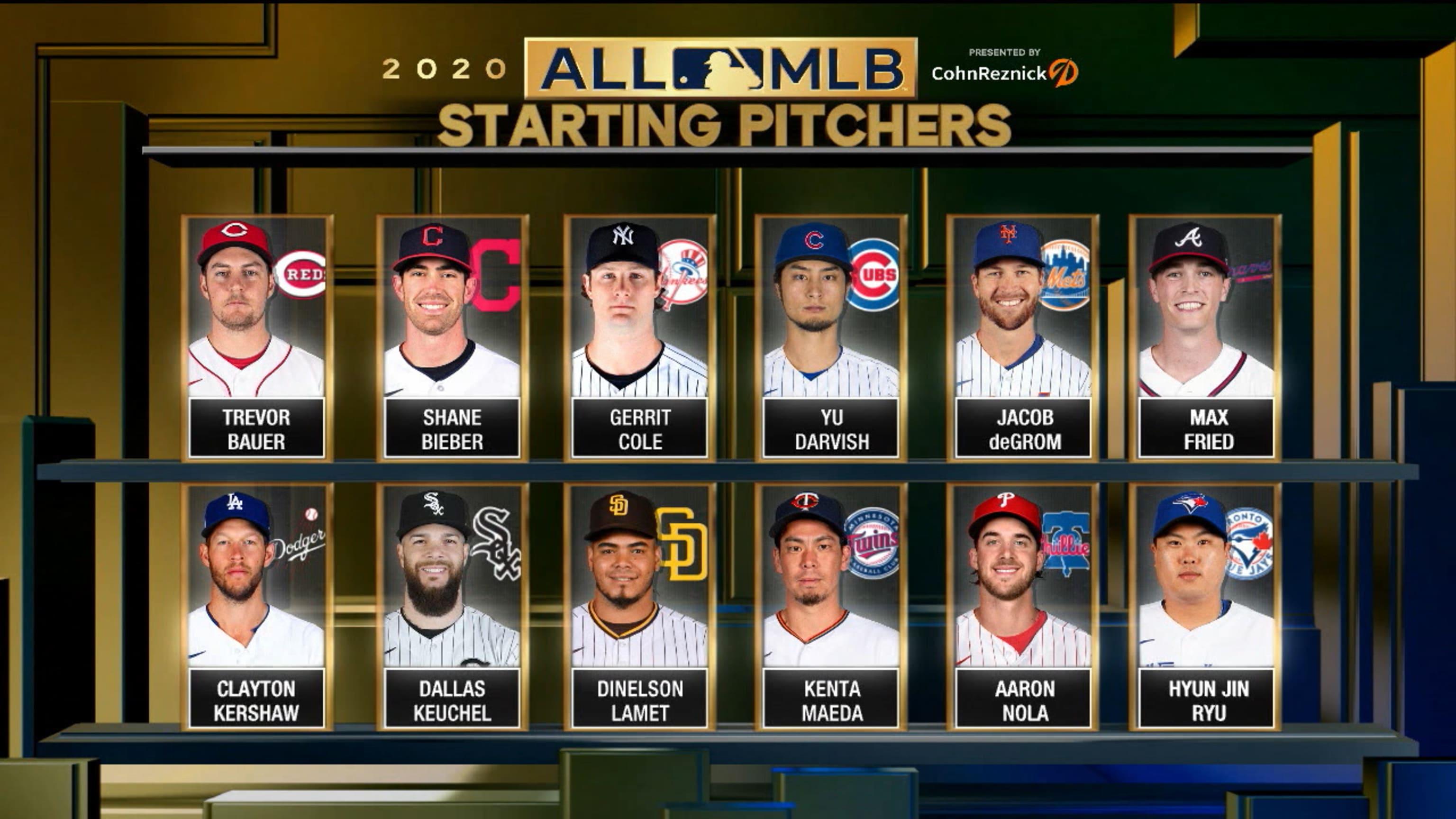 2020 All-MLB Team SP finalists