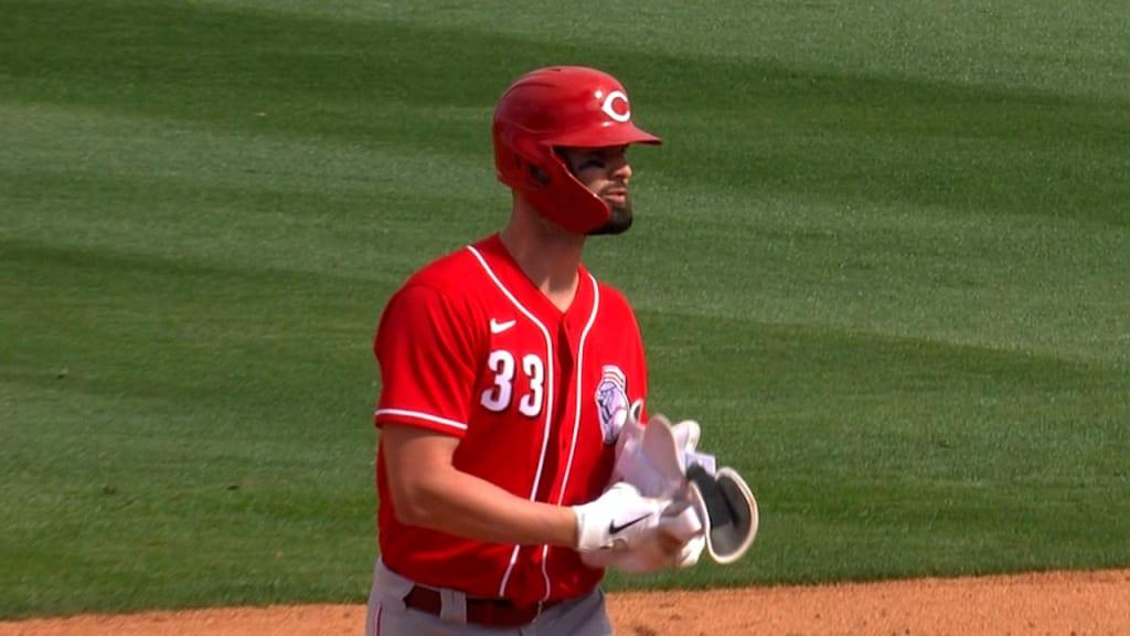 Jesse Winker's two-run double