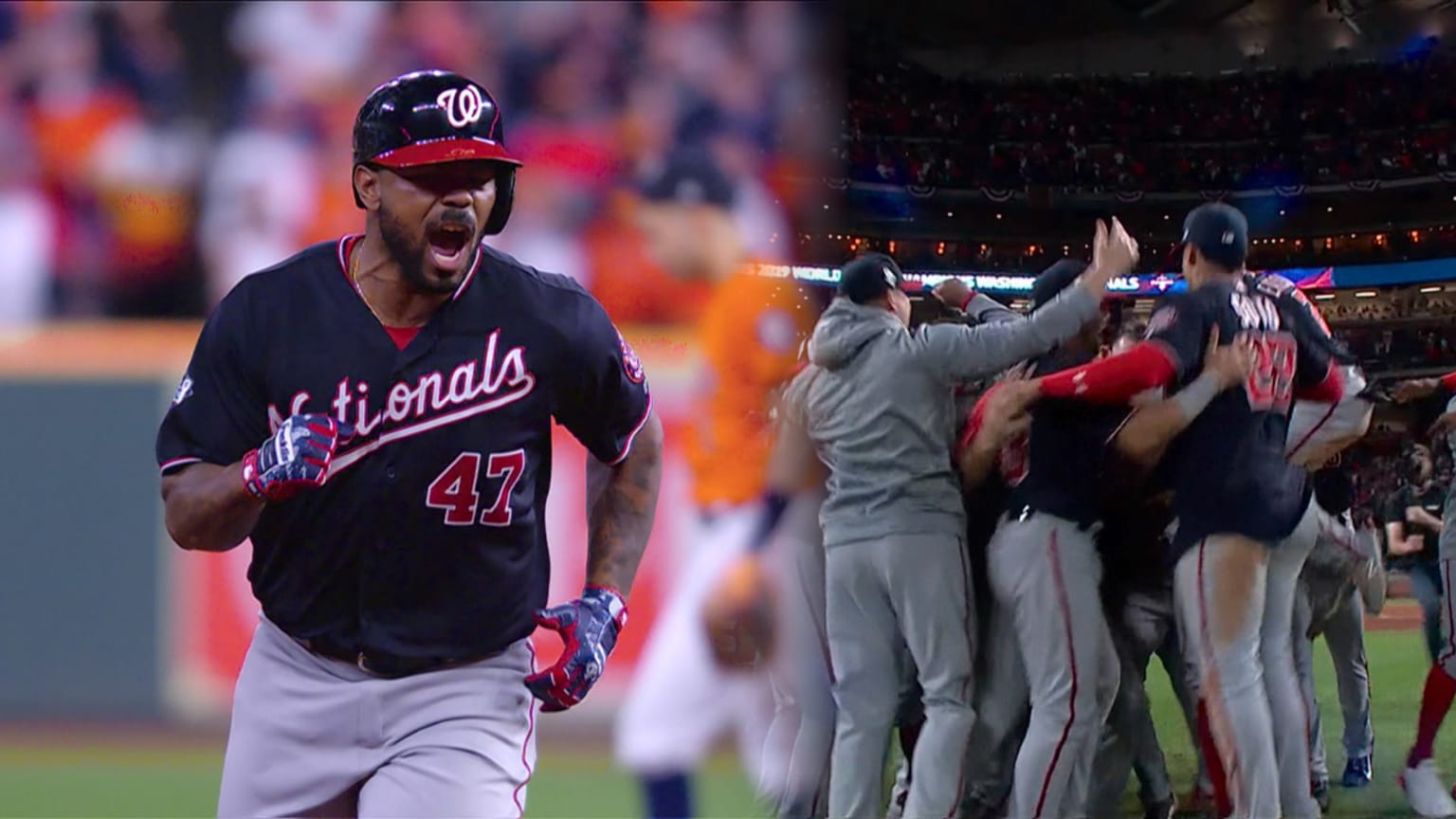 Nationals rally in 7th to win WS | 10/31/2019