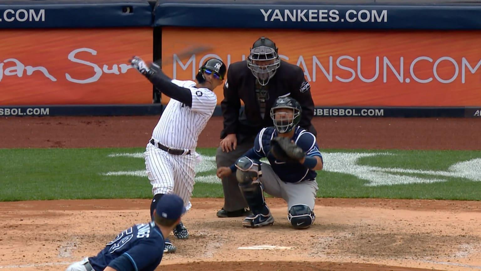 L'odore suona 1st HR come Yankee |  17/04/2021 thumbnail