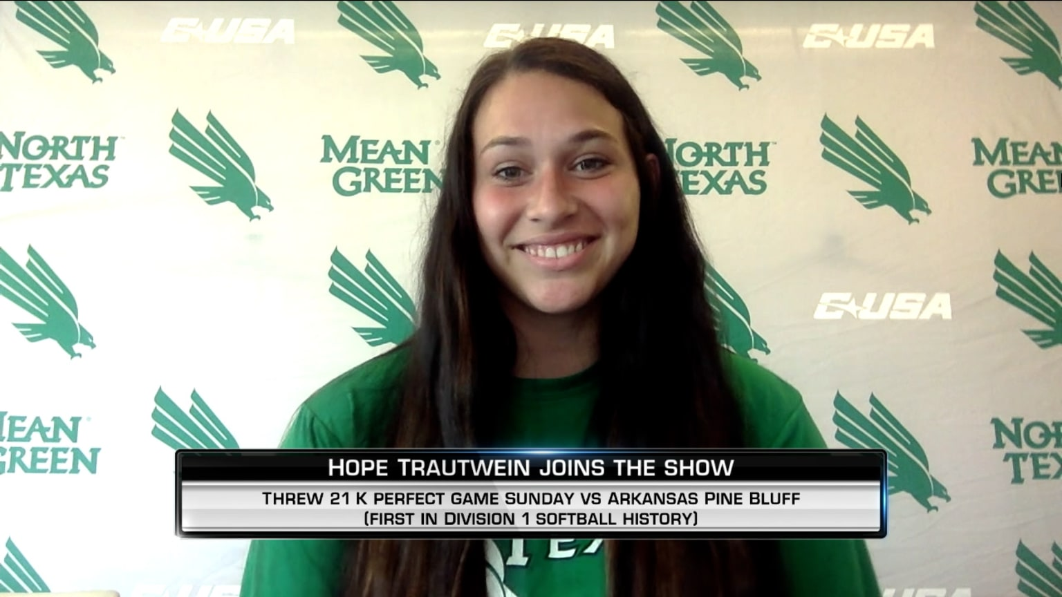Hope Trautwein on perfect game | 04/14/2021