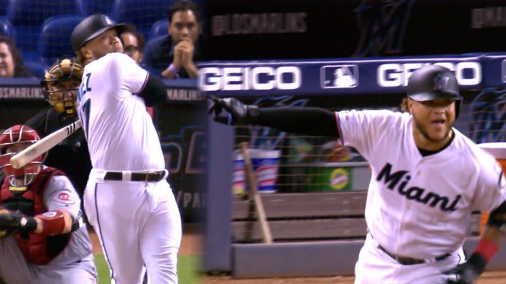 Harold Ramirez hits walk-off homer vs  Reds | MLB com