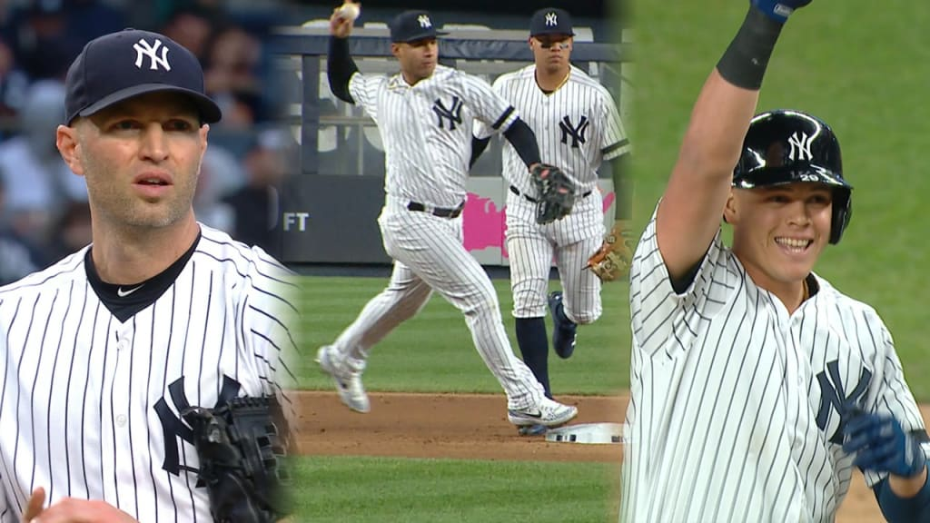 Happ takes no-hitter into fifth as Yanks bounce back against M's