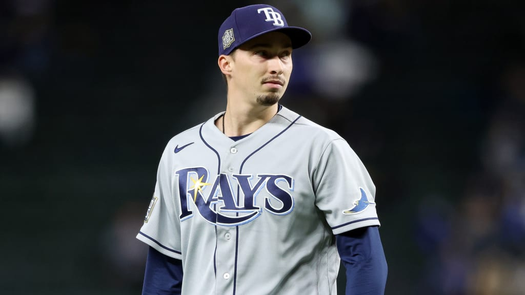 Blake Snell Tampa Bay Rays Spring Training Baseball Player Jersey