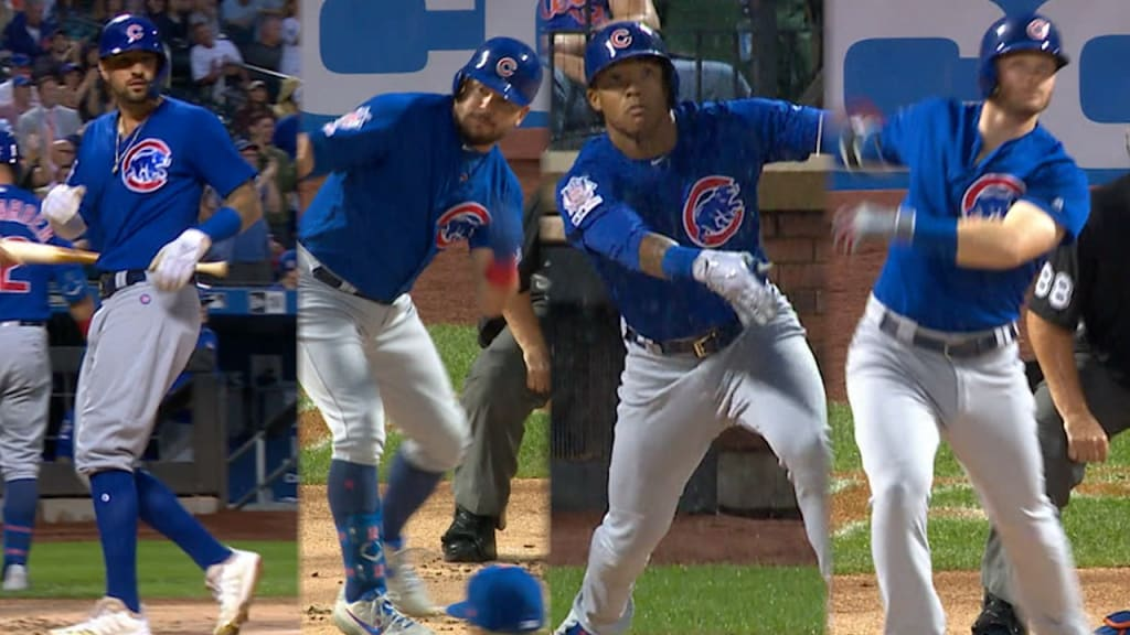 Cubs pounce on Mets early, hold on for victory