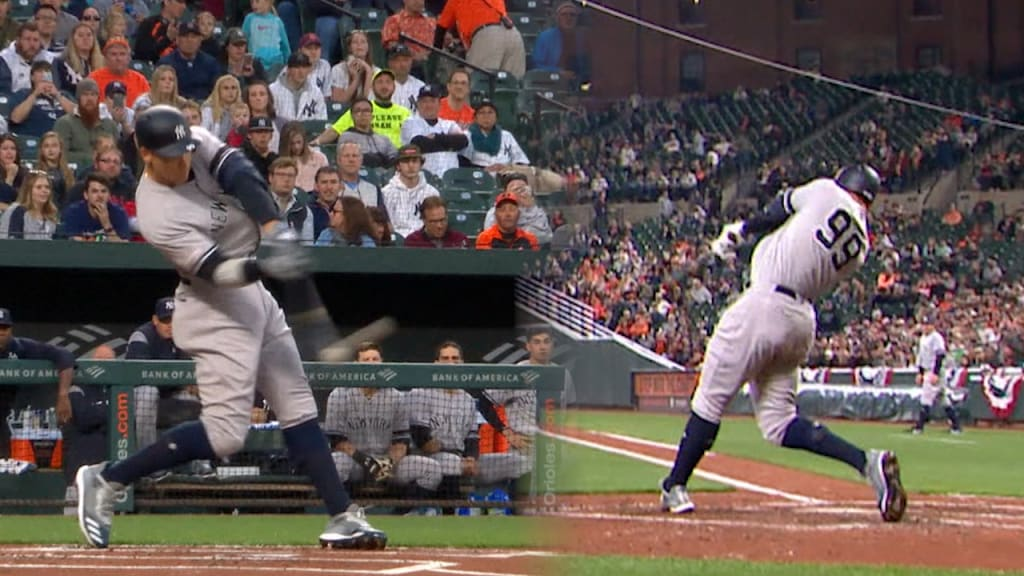 Judge hits 1st HR … then smashes another as Yankees top O's
