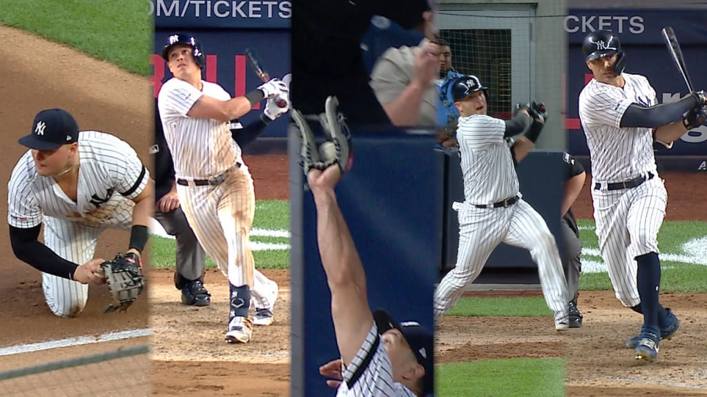 Stanton breaks out as Yankees keep rolling