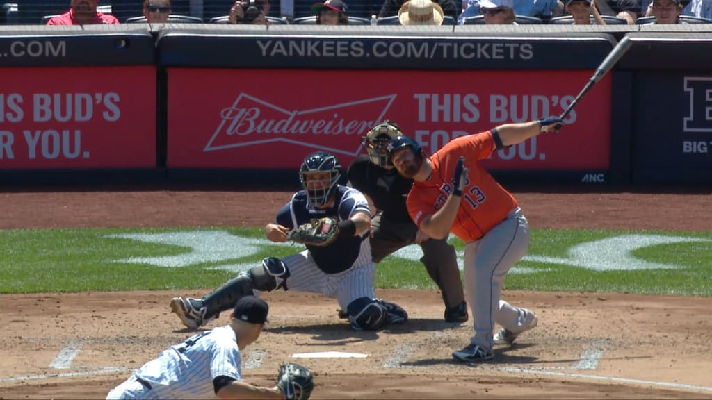 Astros blast 4 homers to take final game of series in Bronx