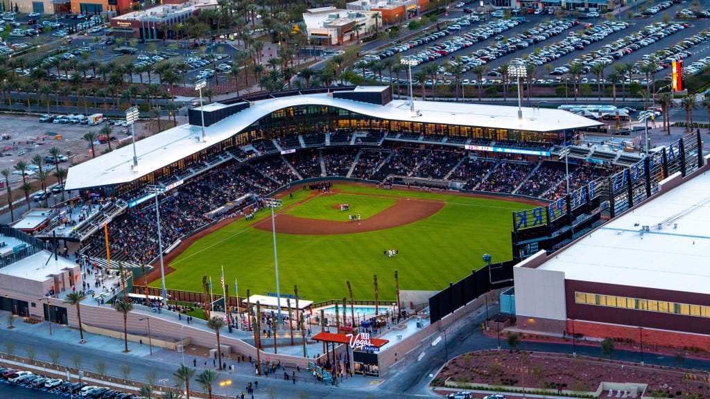 Las Vegas Ballpark aerial
