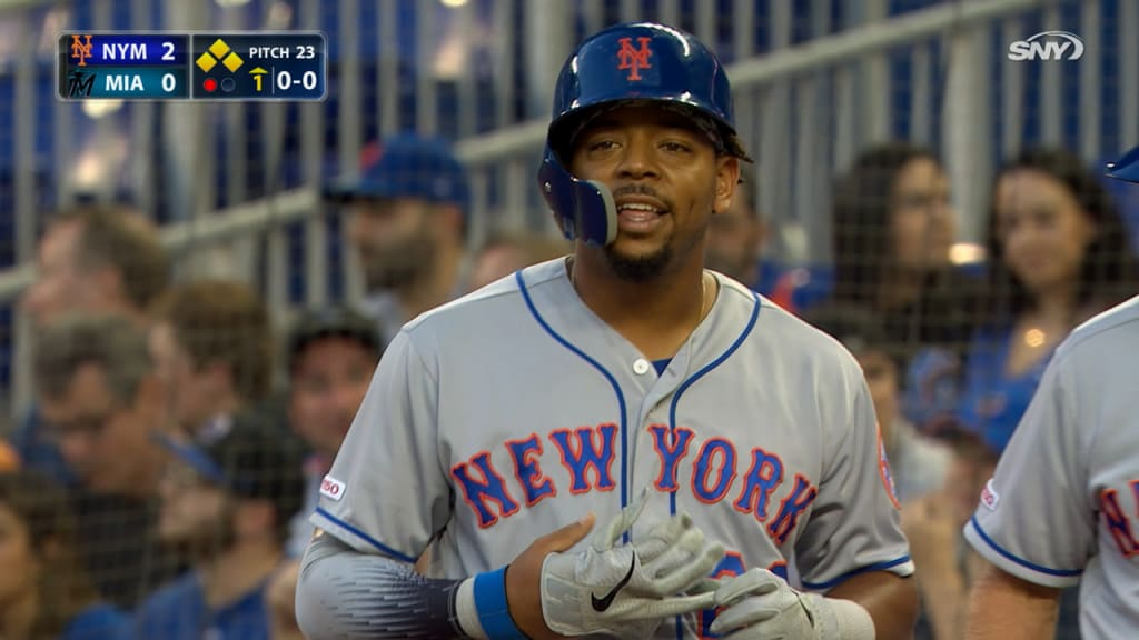 Dominic Smith keys 5-run first inning as Mets top Marlins