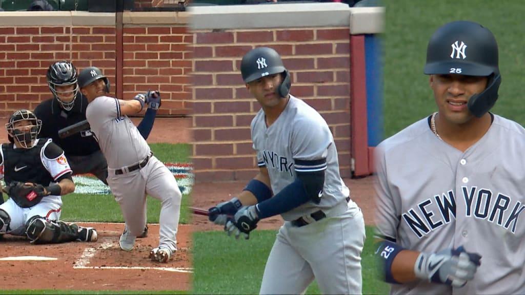 Gleyber, Yankee bats come alive in win at Camden